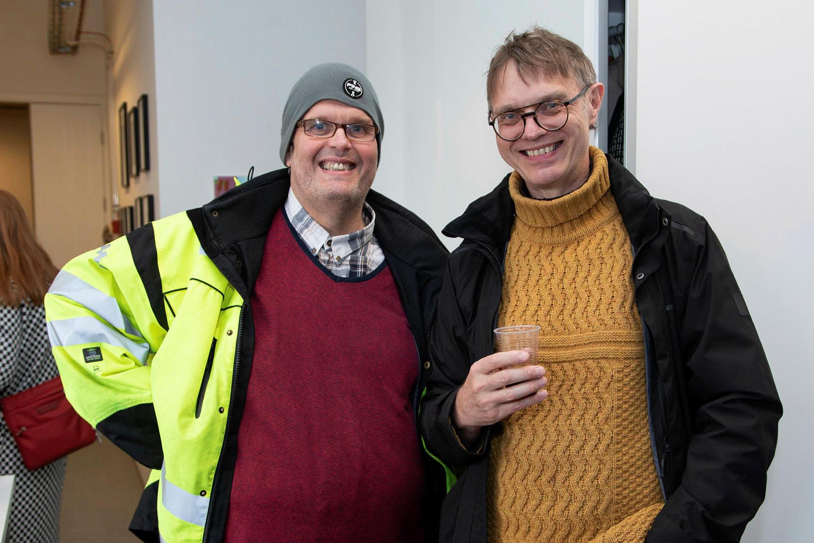 Birgir Sigurðsson og Hlynur Helgason.