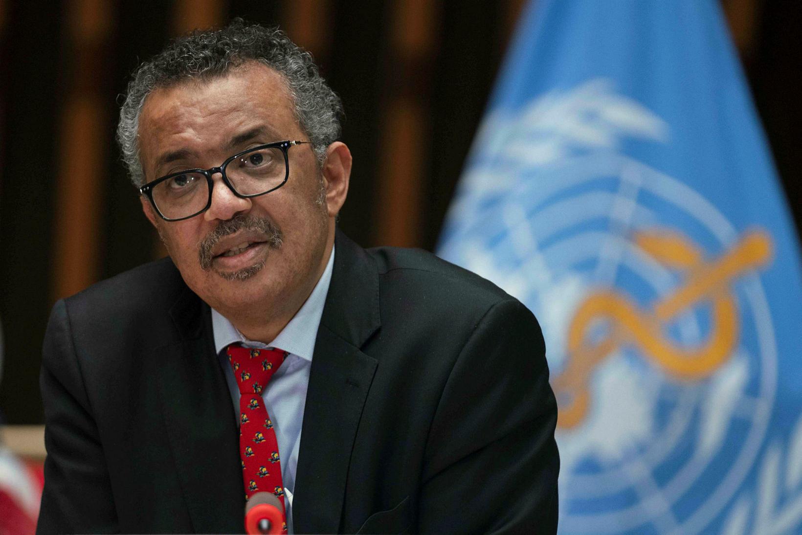 Tedros Adhanom Ghebreyesus, framkvæmdastjóri WHO.