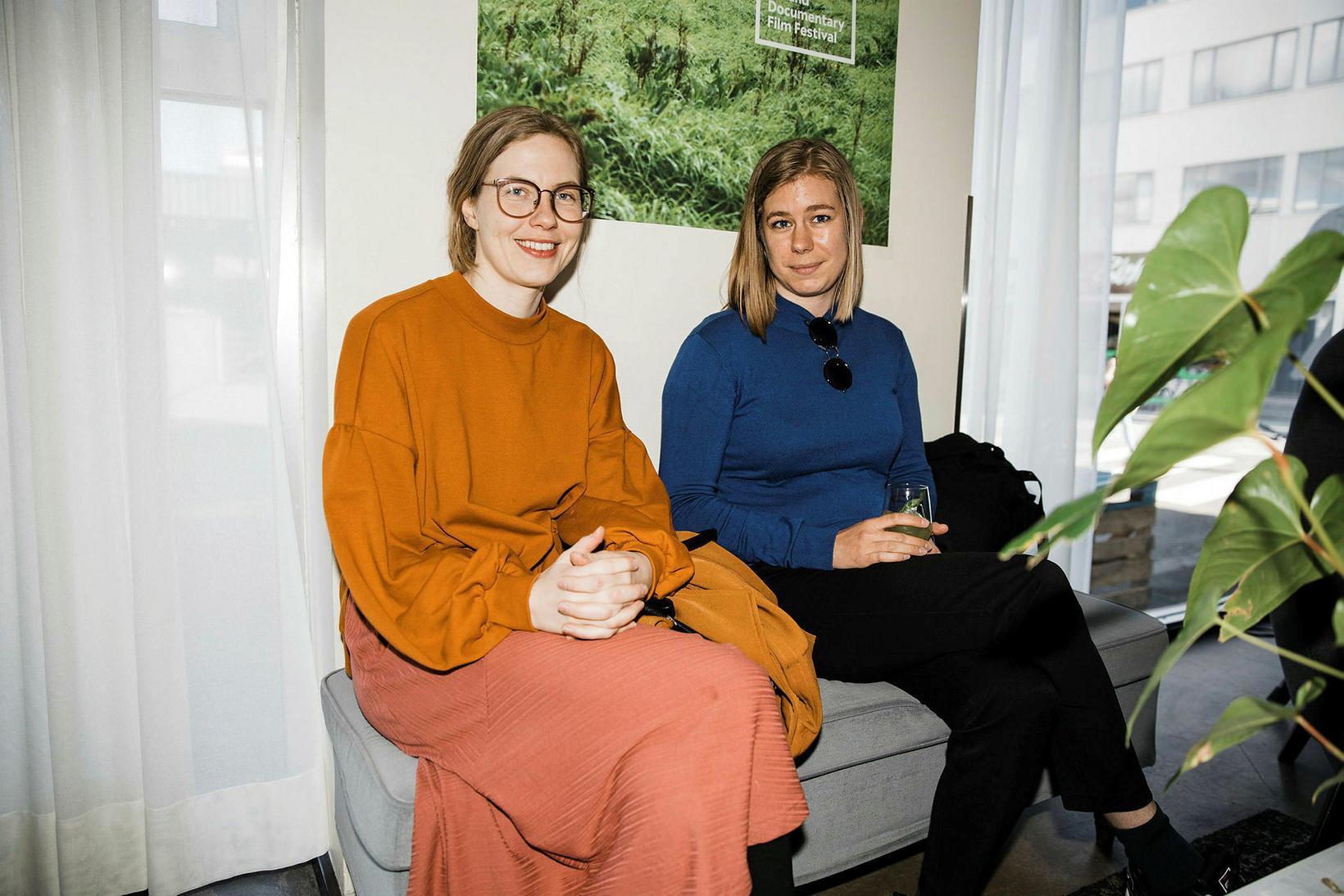 María Ágústsdóttir og Ingibjörg Halldórsdóttir.