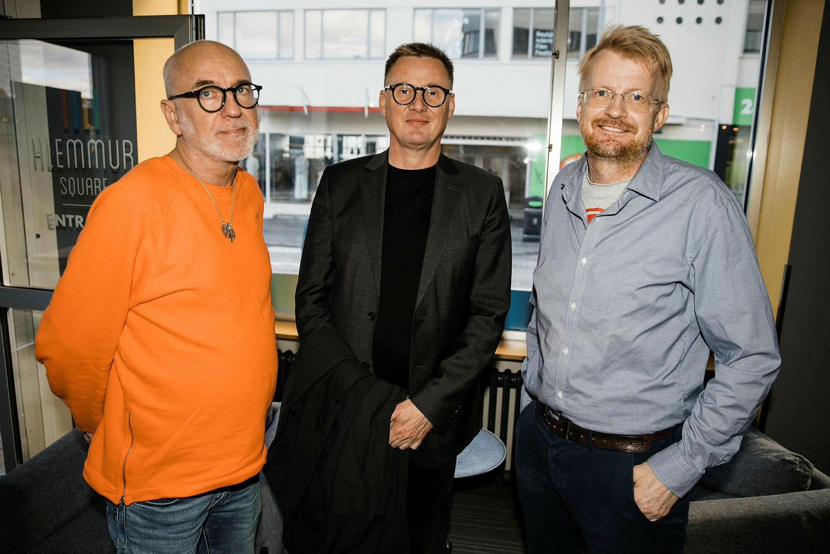 Marteinn Tryggvason Tausen, Vignir Jónsson og Auðunn Mar Guðmundsson.