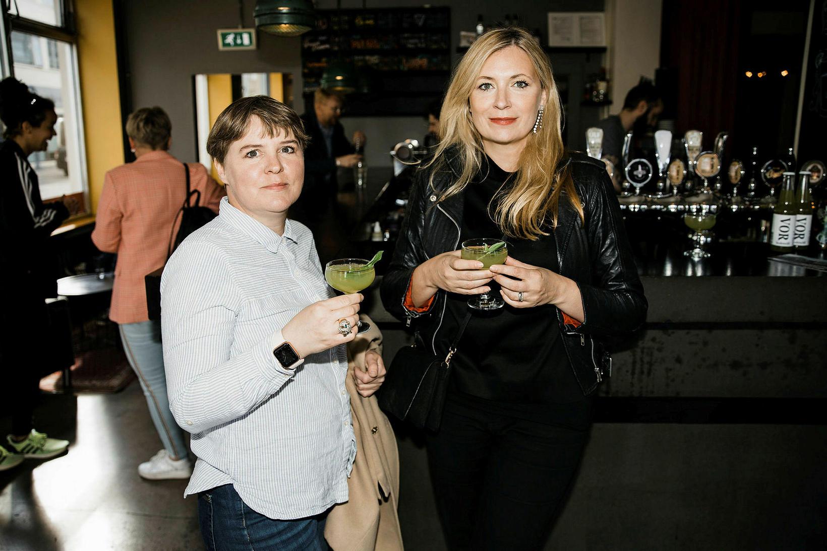Ragnheiður Axel og Anna Margrét Björnsson.