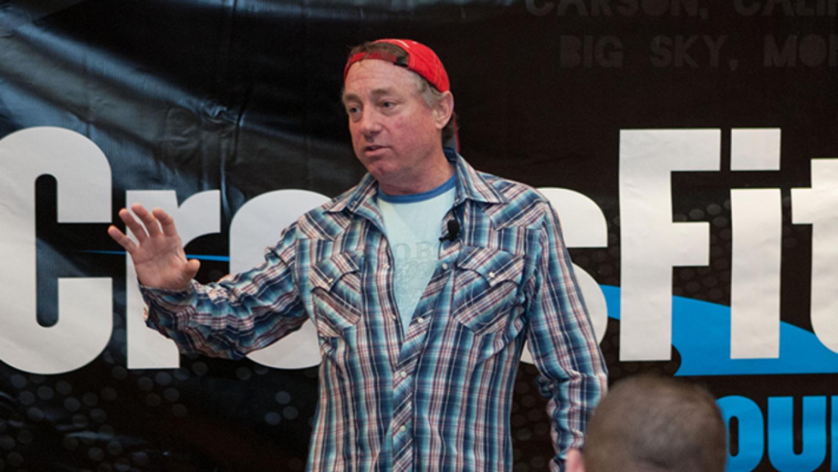 Greg Glassman, upphafsmaður og forstjóri CrossFit, sagðist ekki syrgja George …