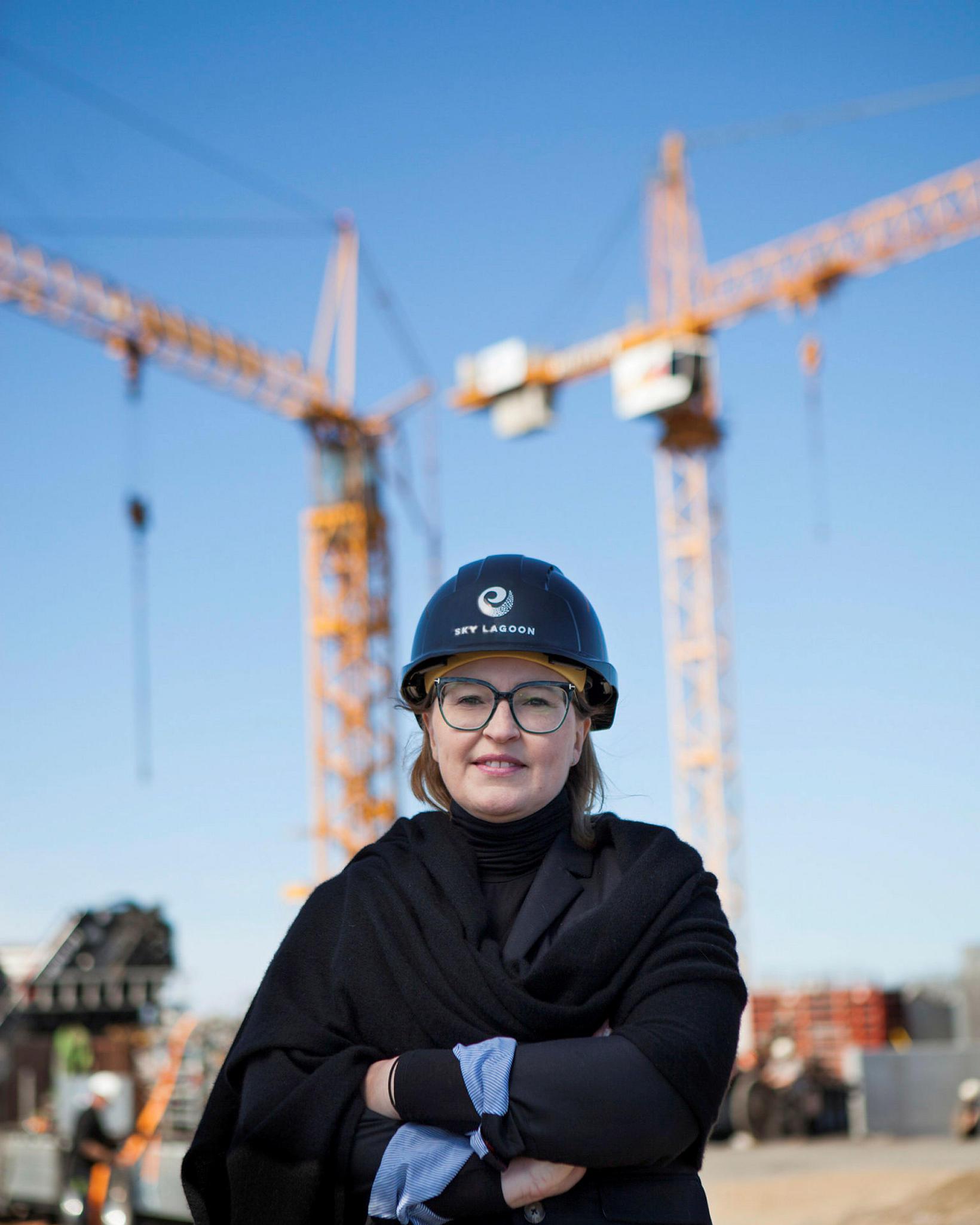Dagný Pétursdóttir, managing director of Sky Lagoon.