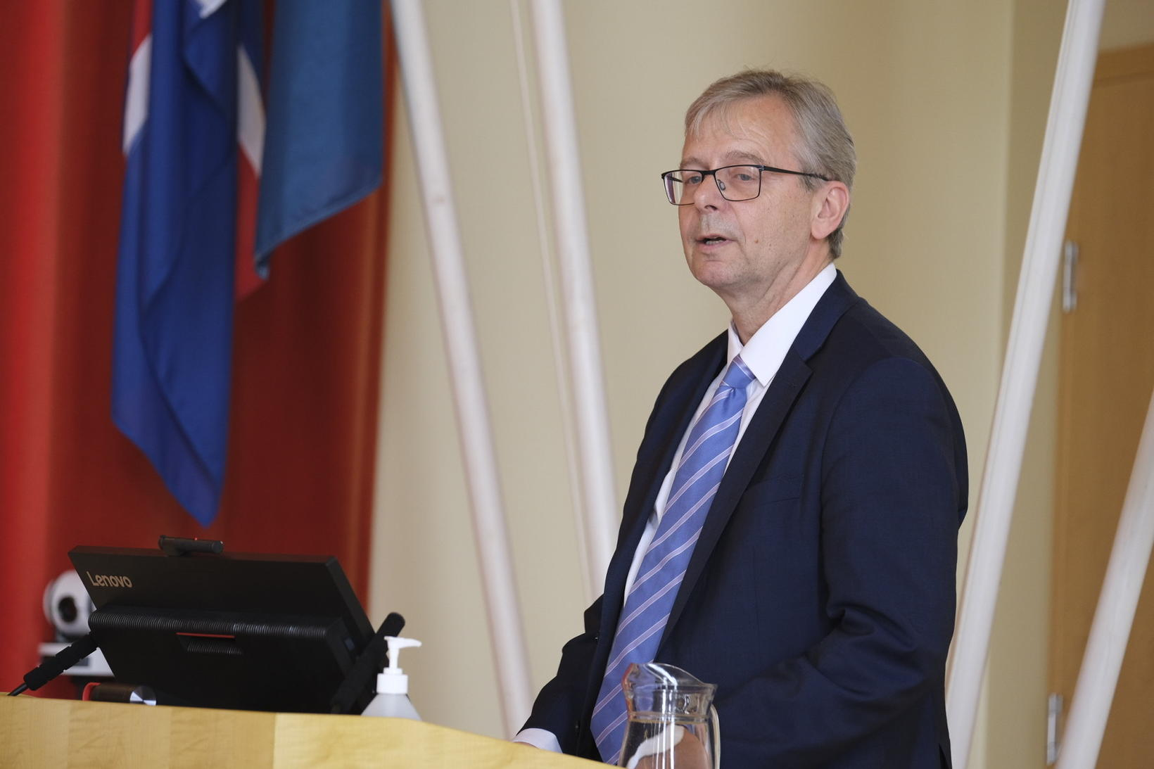 University of Iceland Rector Jón Atli Benediktsson.