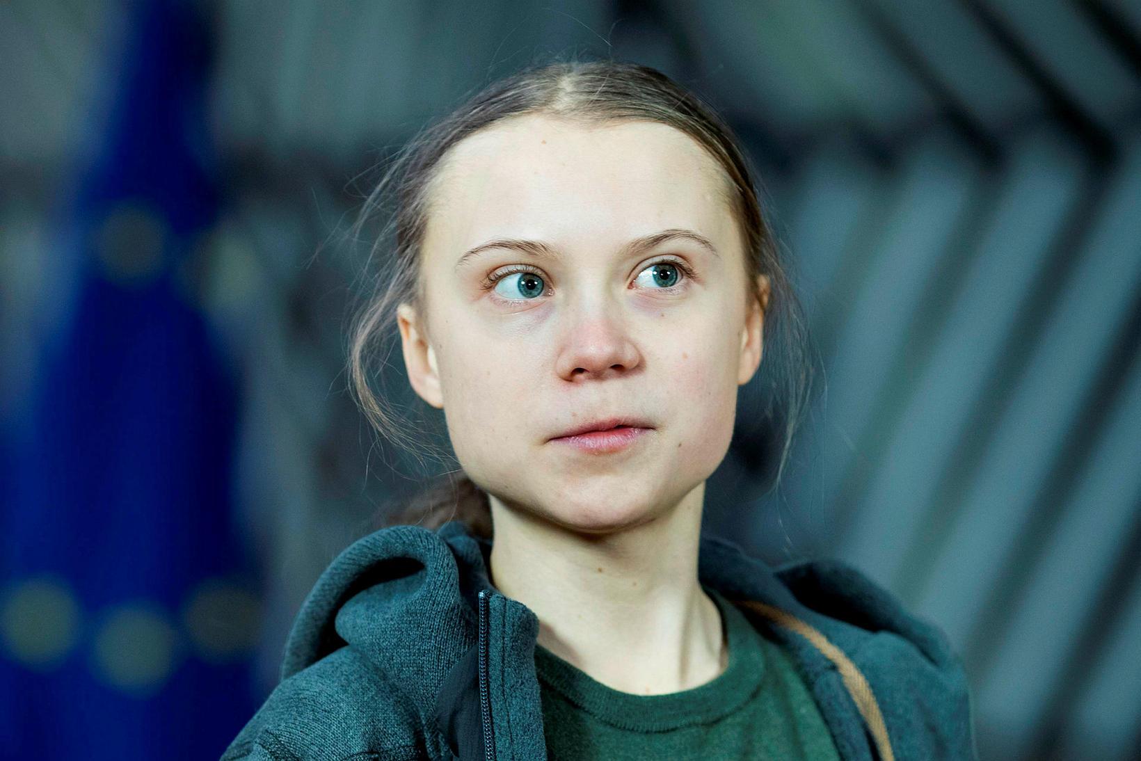 Greta Thunberg hefur staðið fyrir loftslagsmótmælum víðs vegar um heiminn …