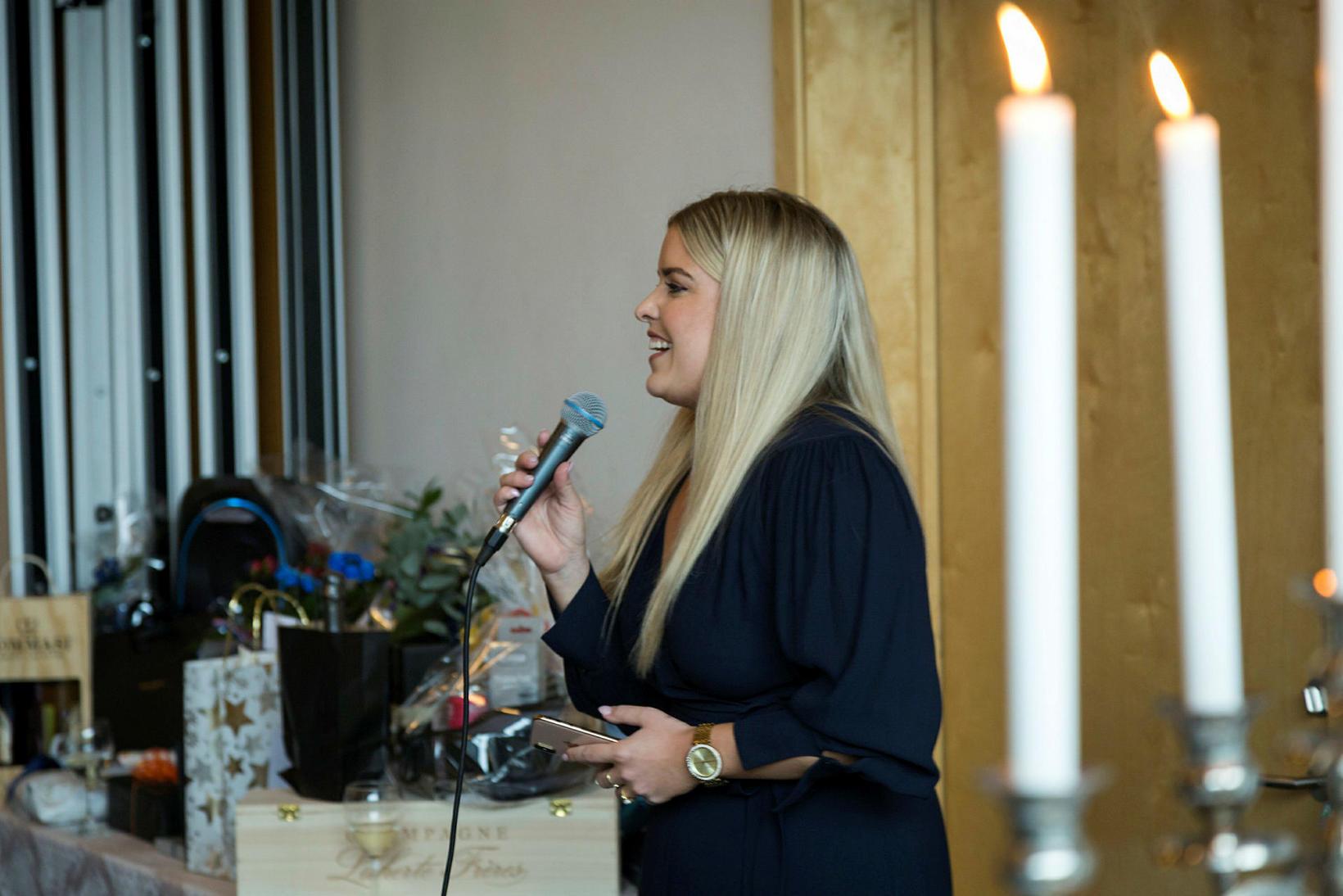 Áslaug Arna Sigurbjörnsdóttir sagði nokkur orð.
