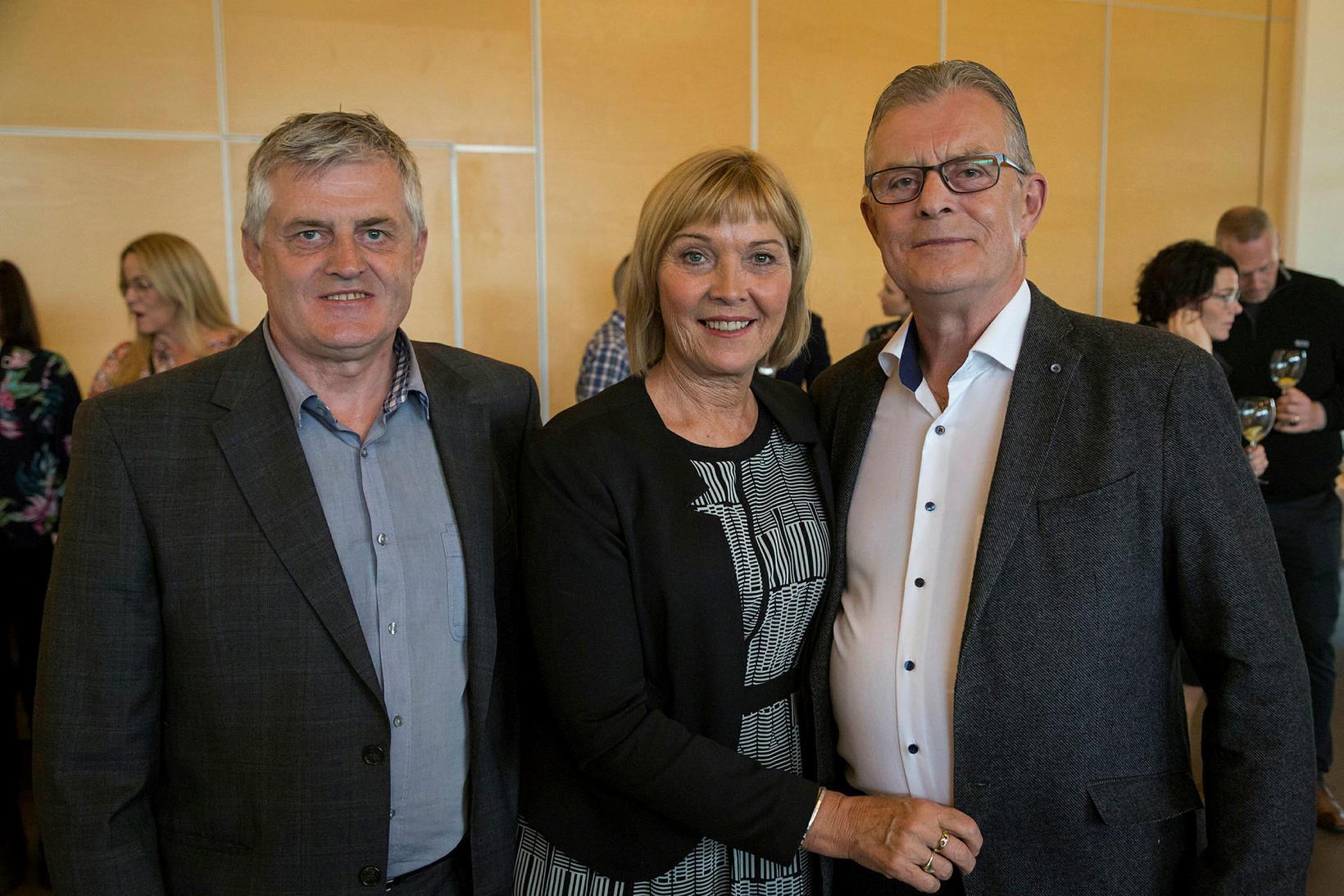 Kári Jóhannsson, Sigurbjörg Eiríksdóttir og Valdór Jóhannsson.