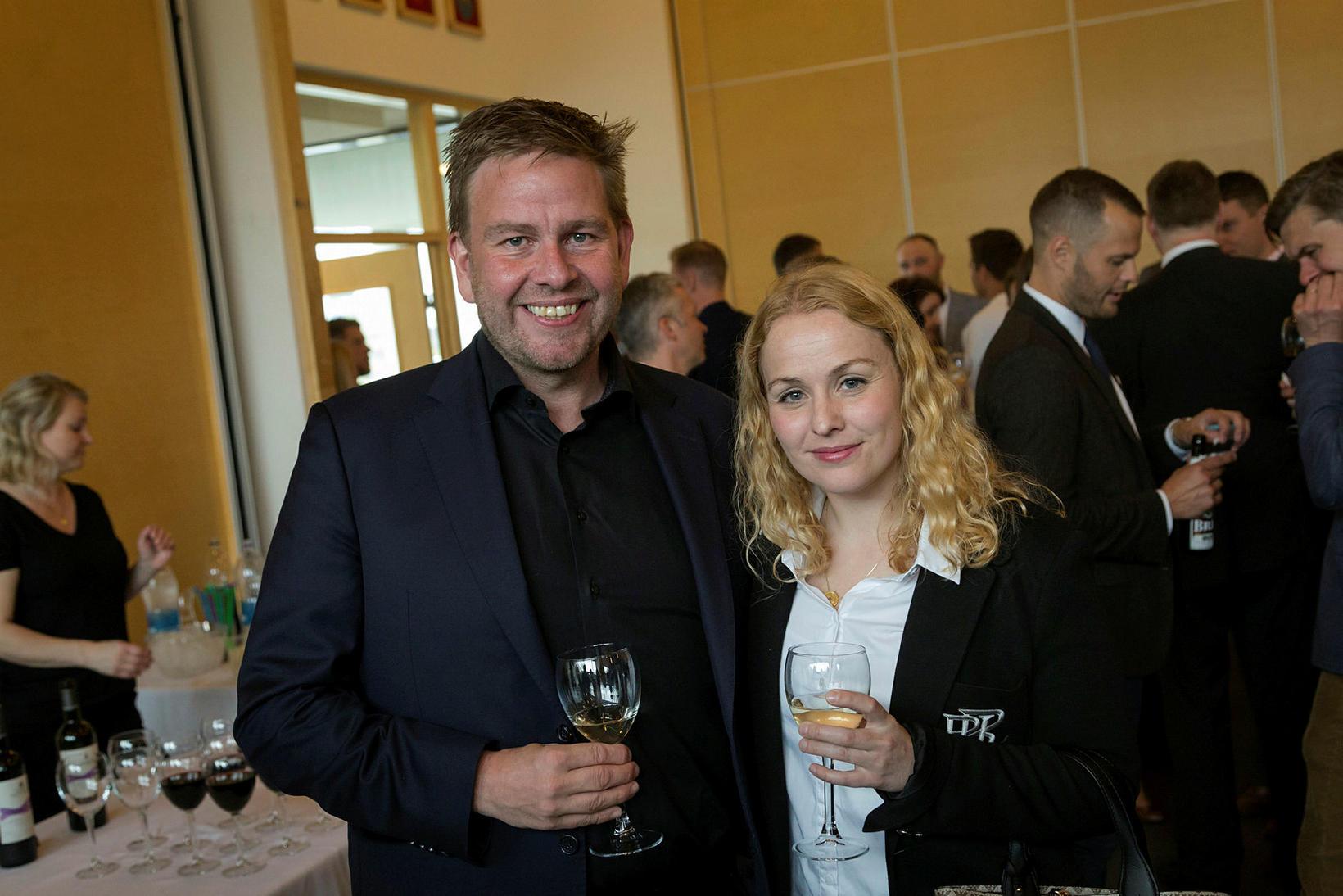 Matthias Imsland og Eva Björg Bragadóttir.