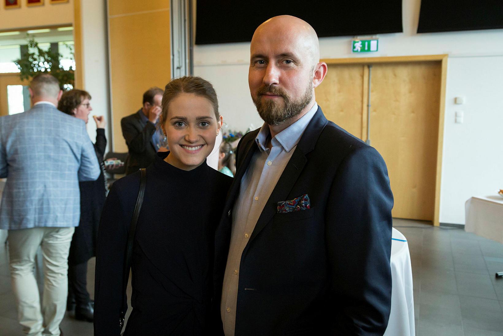 Kristín Þórdís Þorgilsdóttir og Hjörtur Ingi Hjartarson.