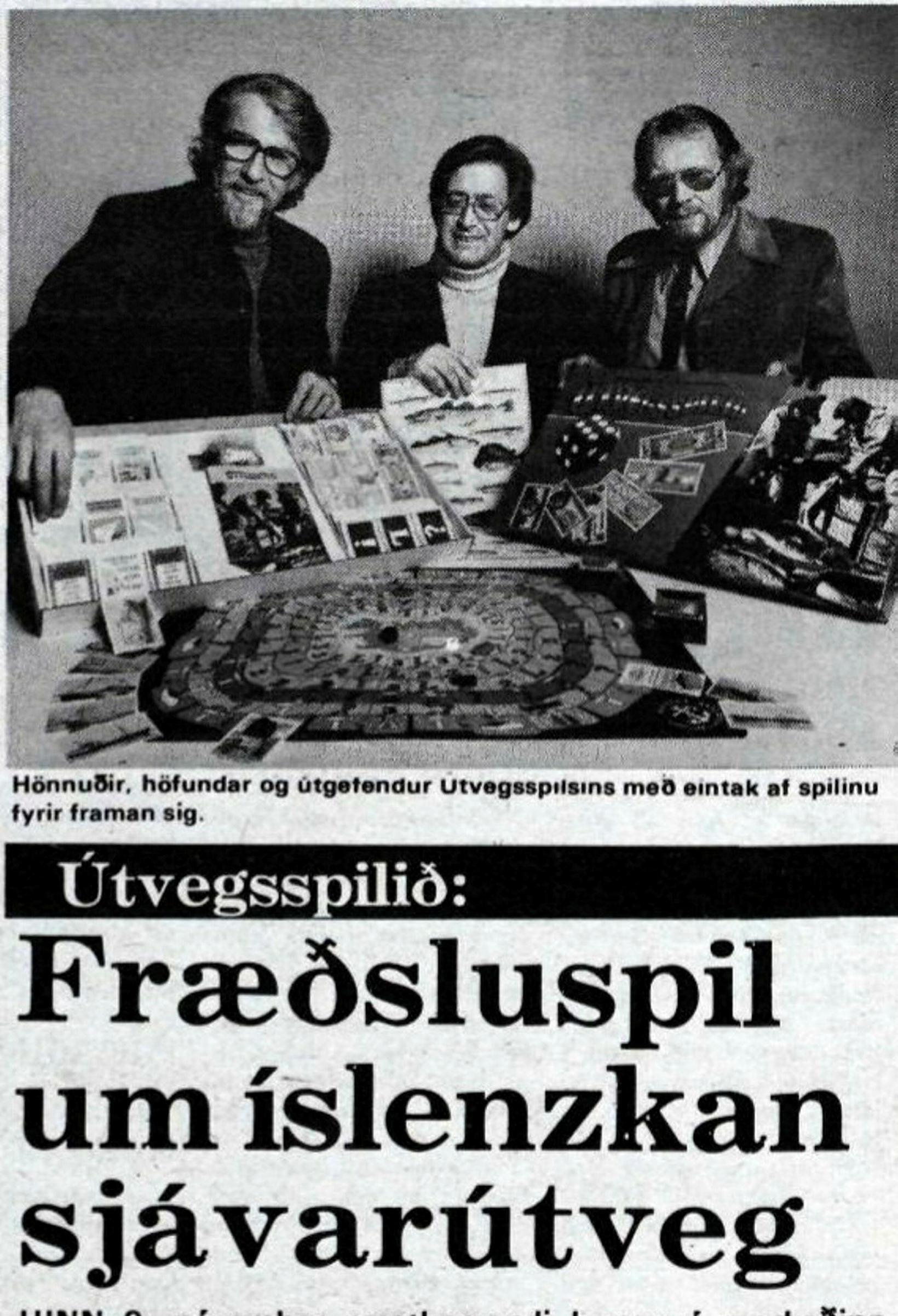 Útvegssðilið kom út fyrst 1977 og vakti talsverða athygli.