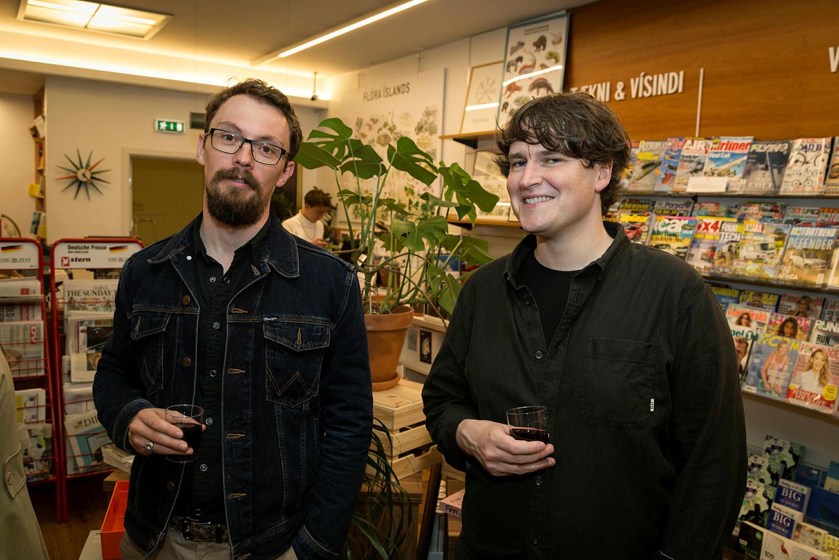 Jan Alexander van Nahl og Dale Kedwards.