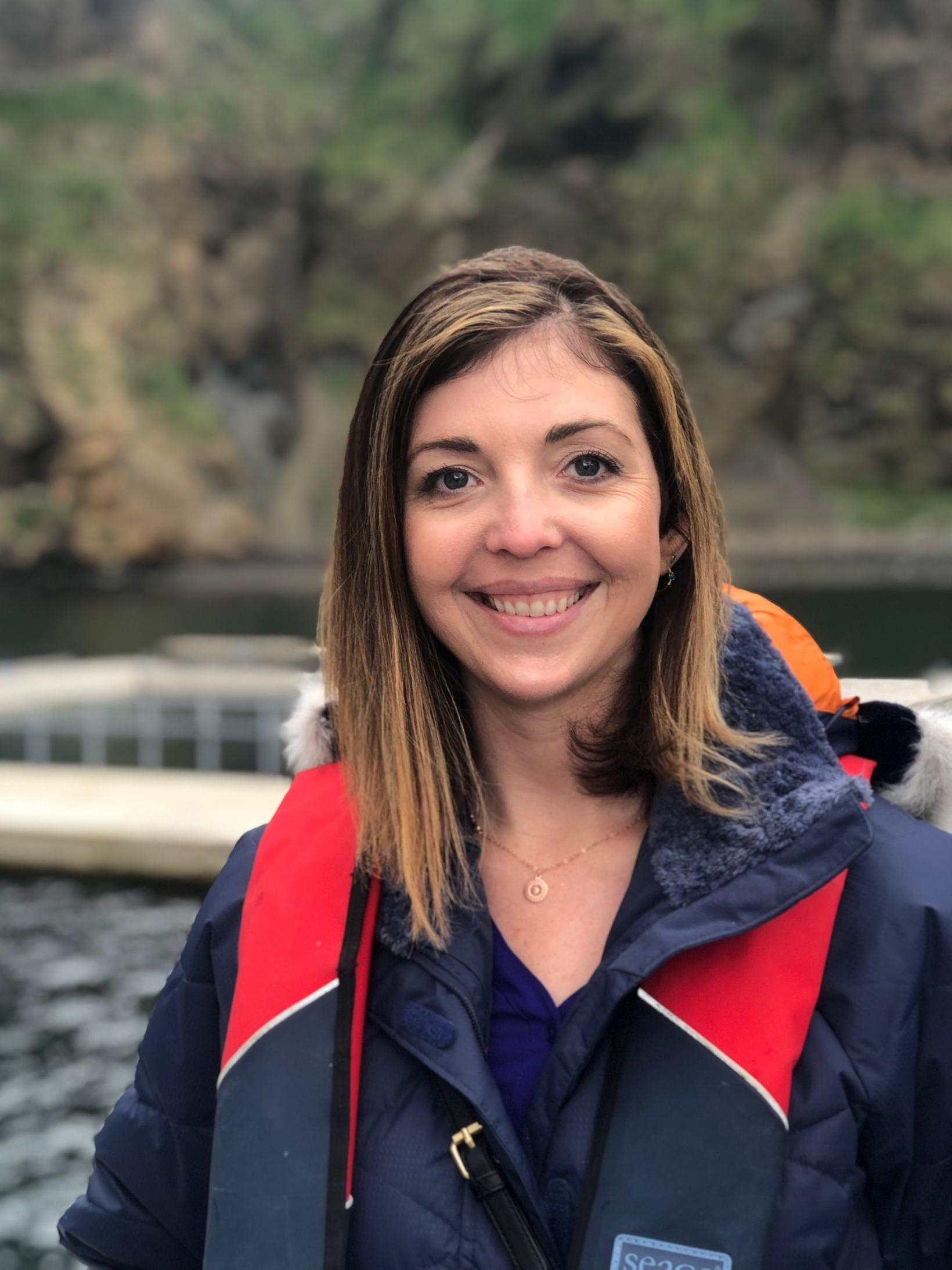 Audrey Padgett framkvæmdastjóri Sea Life Trust.