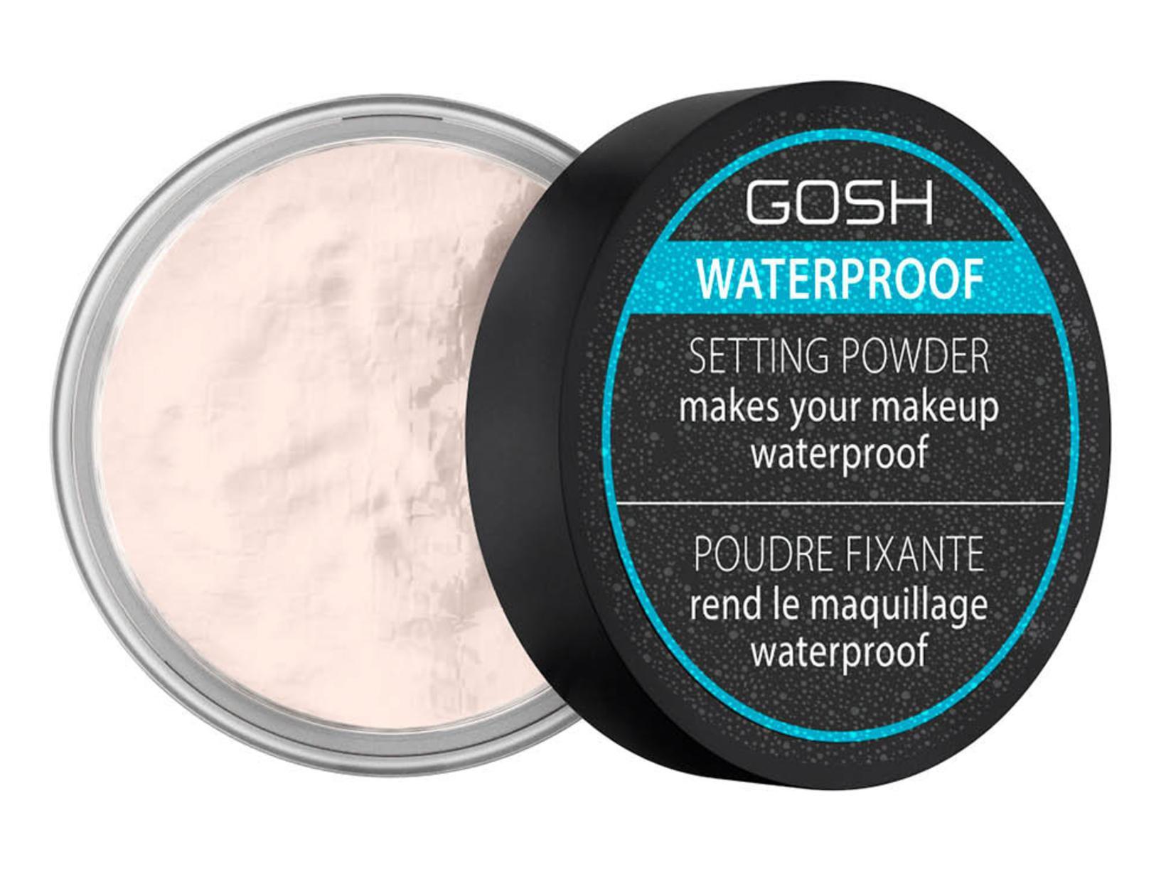 GOSH Waterproof Setting Powder, 1.499 kr.