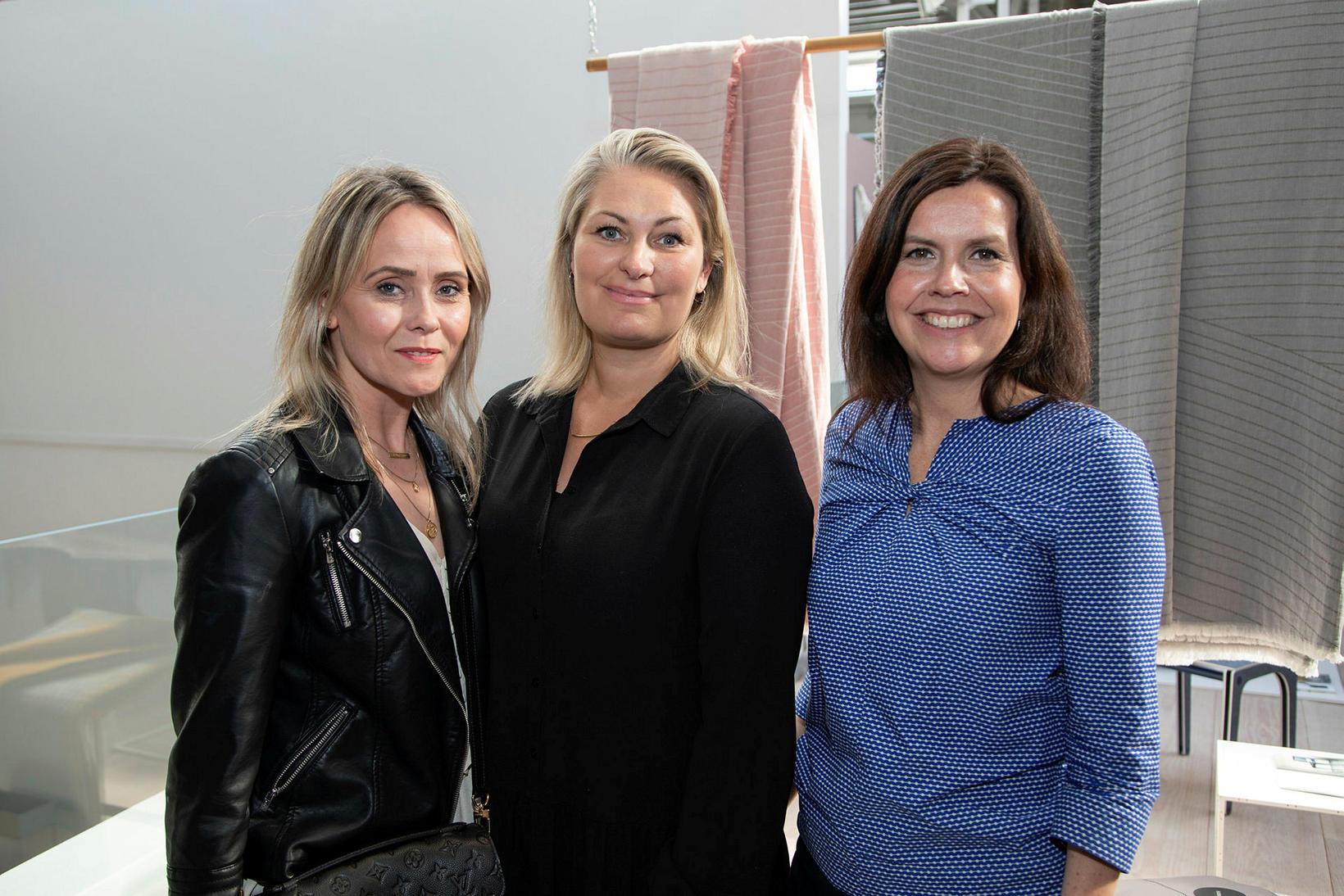 Helga Björt Ingadóttir, Iðunn Brynja Sveinsdóttir og Ingibjörg Hanna Bjarnadóttir.