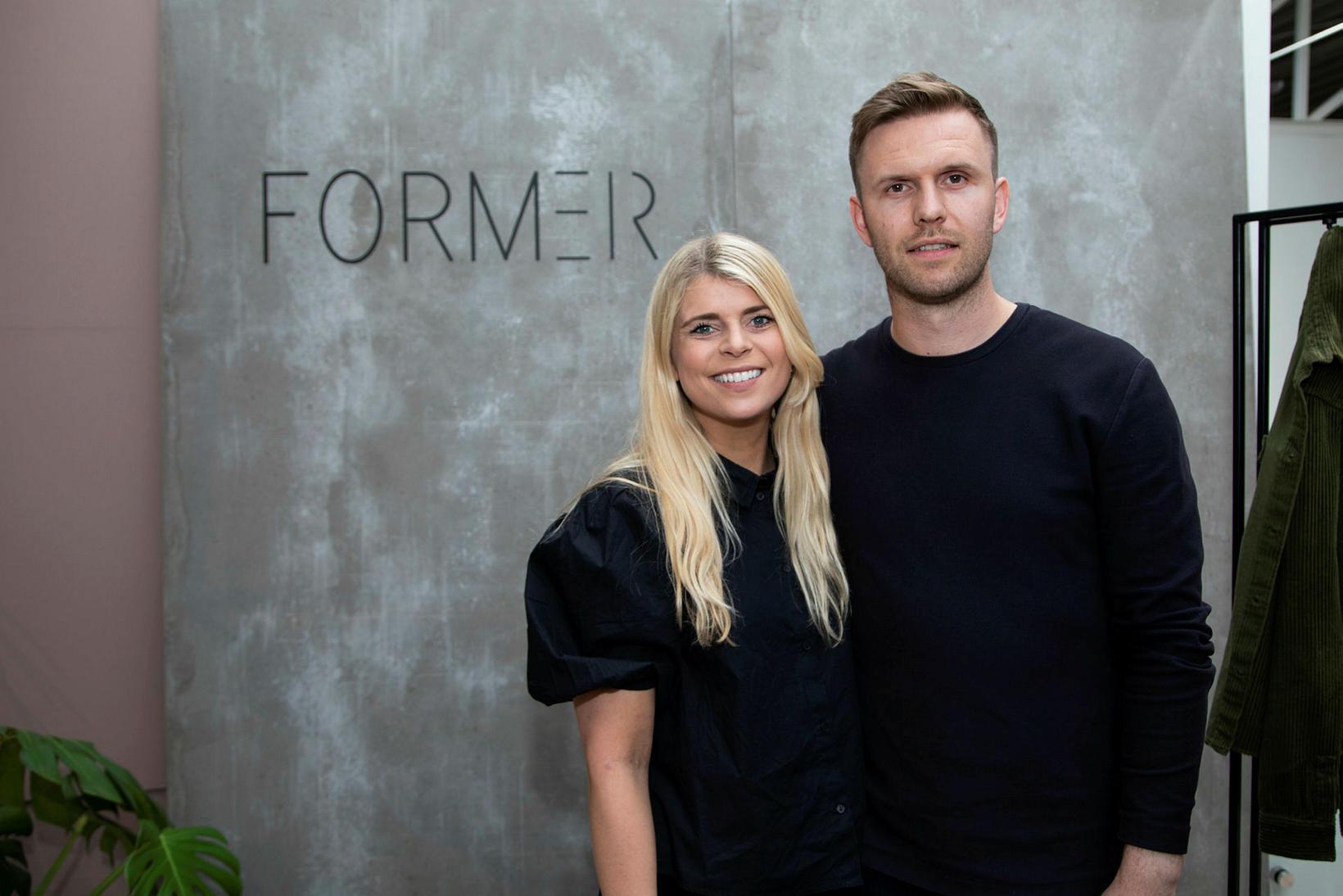 Rebekka Pétursdóttir og Ellert Hreinsson.