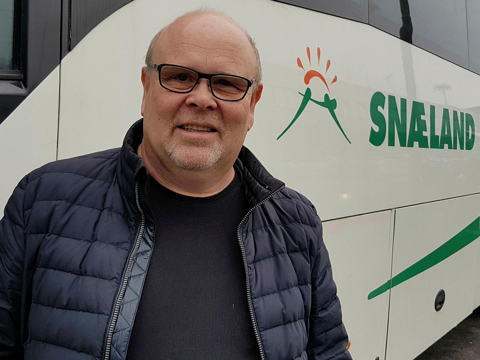 Hallgrímur Lárusson, framkvæmdastjóri Snælands Grímssonar.