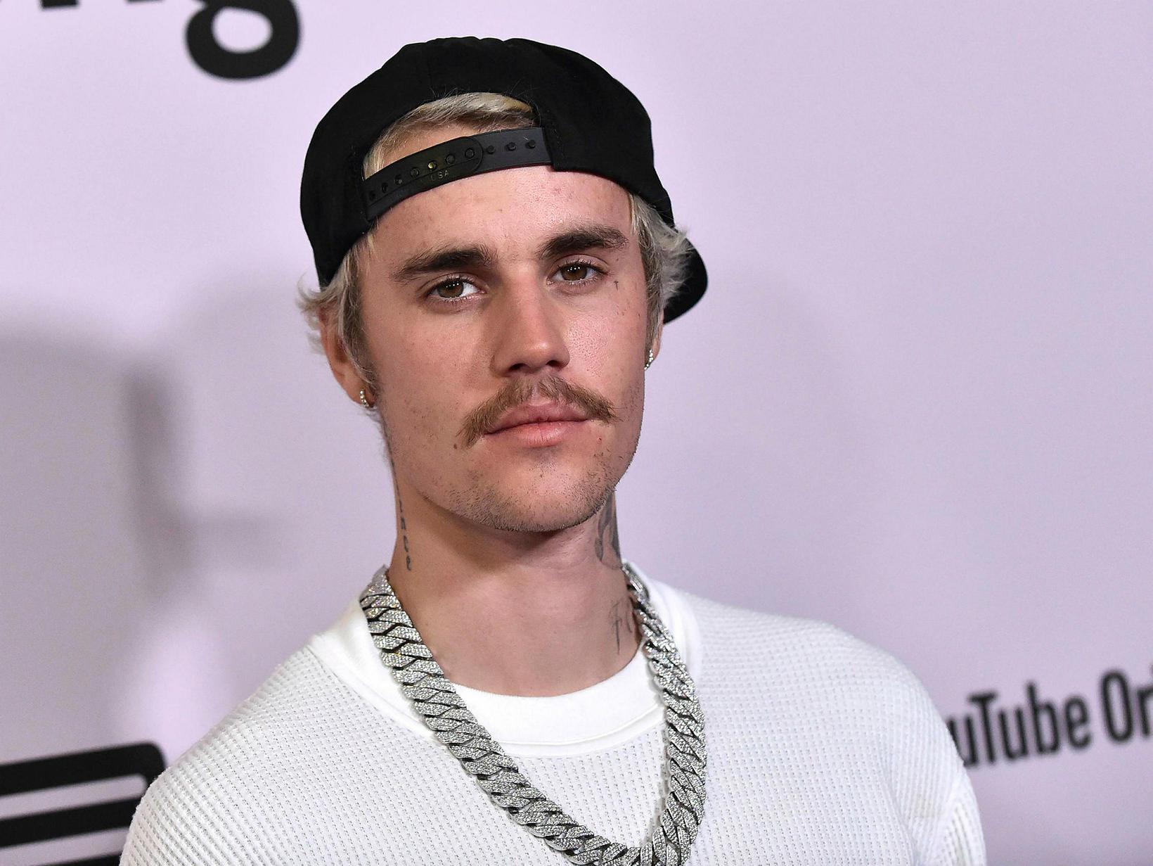 Justin Bieber ákvað að skreppa til Skien eftir tónleika sína …