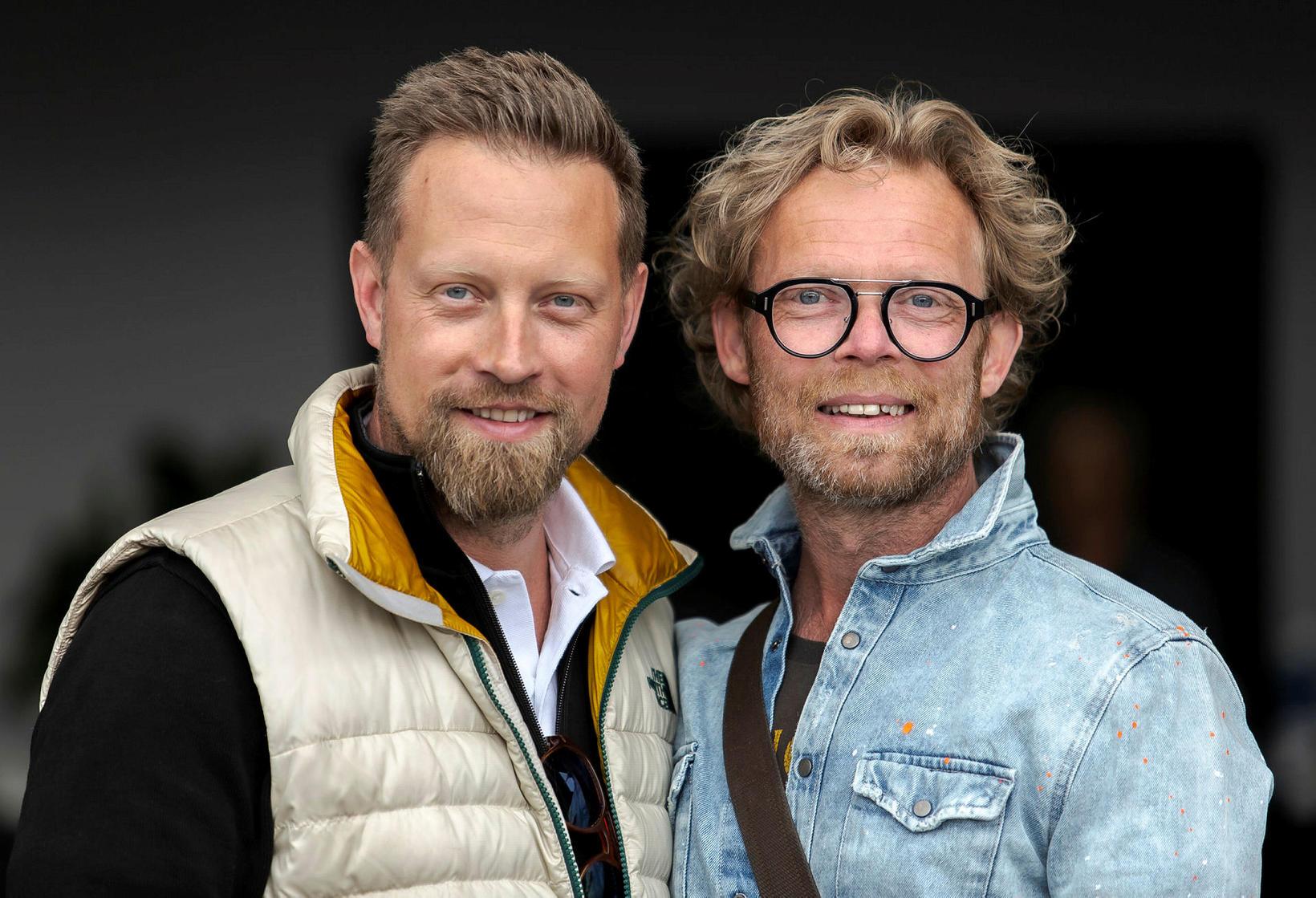 Baldur Rafn Gylfason og Arnar Gauti Sverrisson.