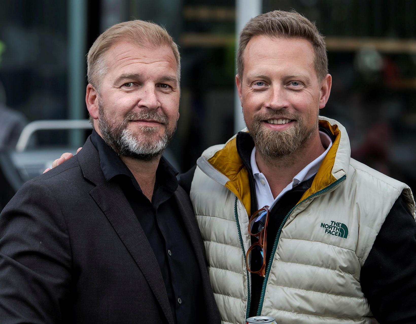 Hallgrímur Friðgeirsson og Baldur Rafn Gylfason.