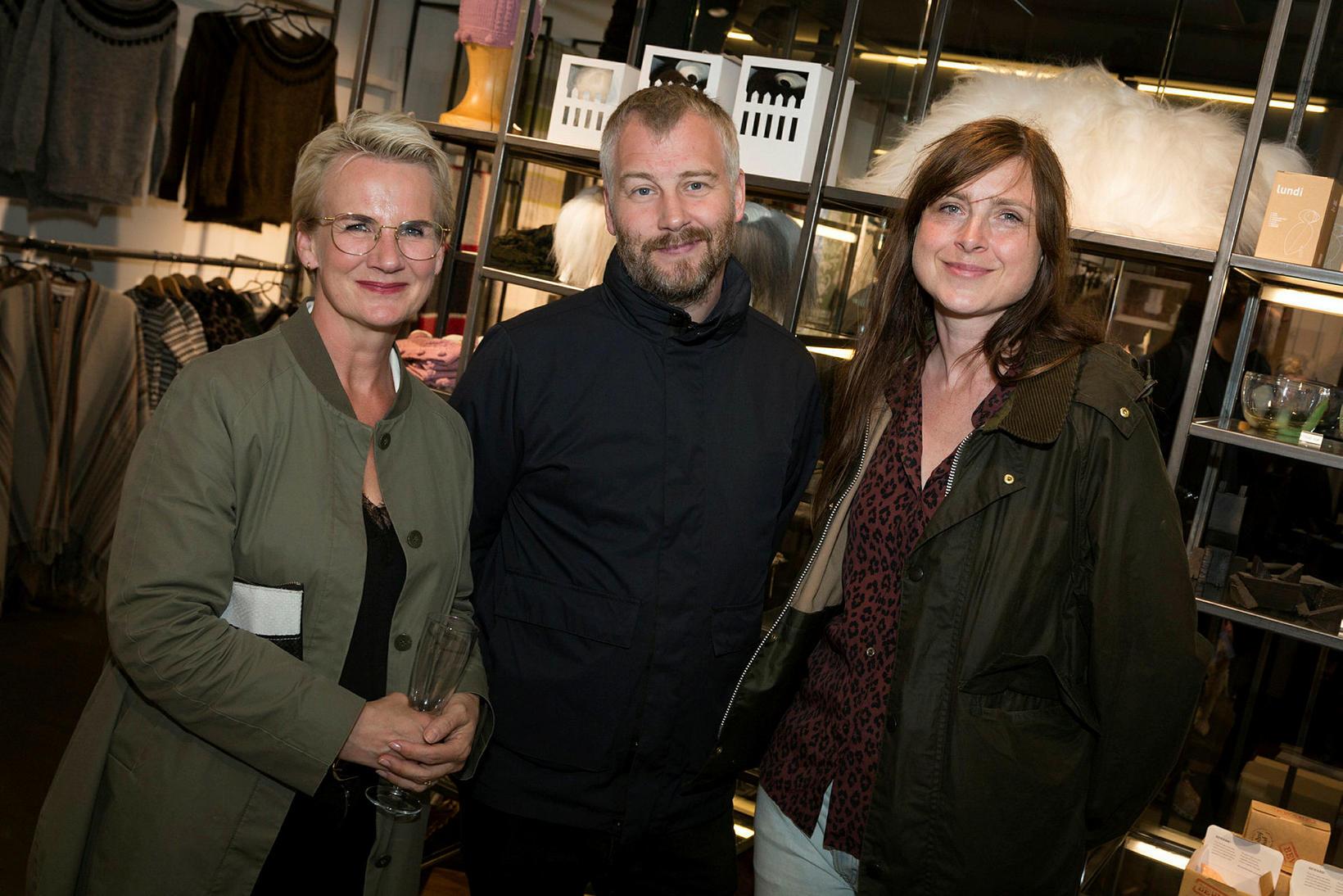 Hildur Agnesdóttir, Ármann Agnarsson og Ingibjörg Gunnþórsdóttir.