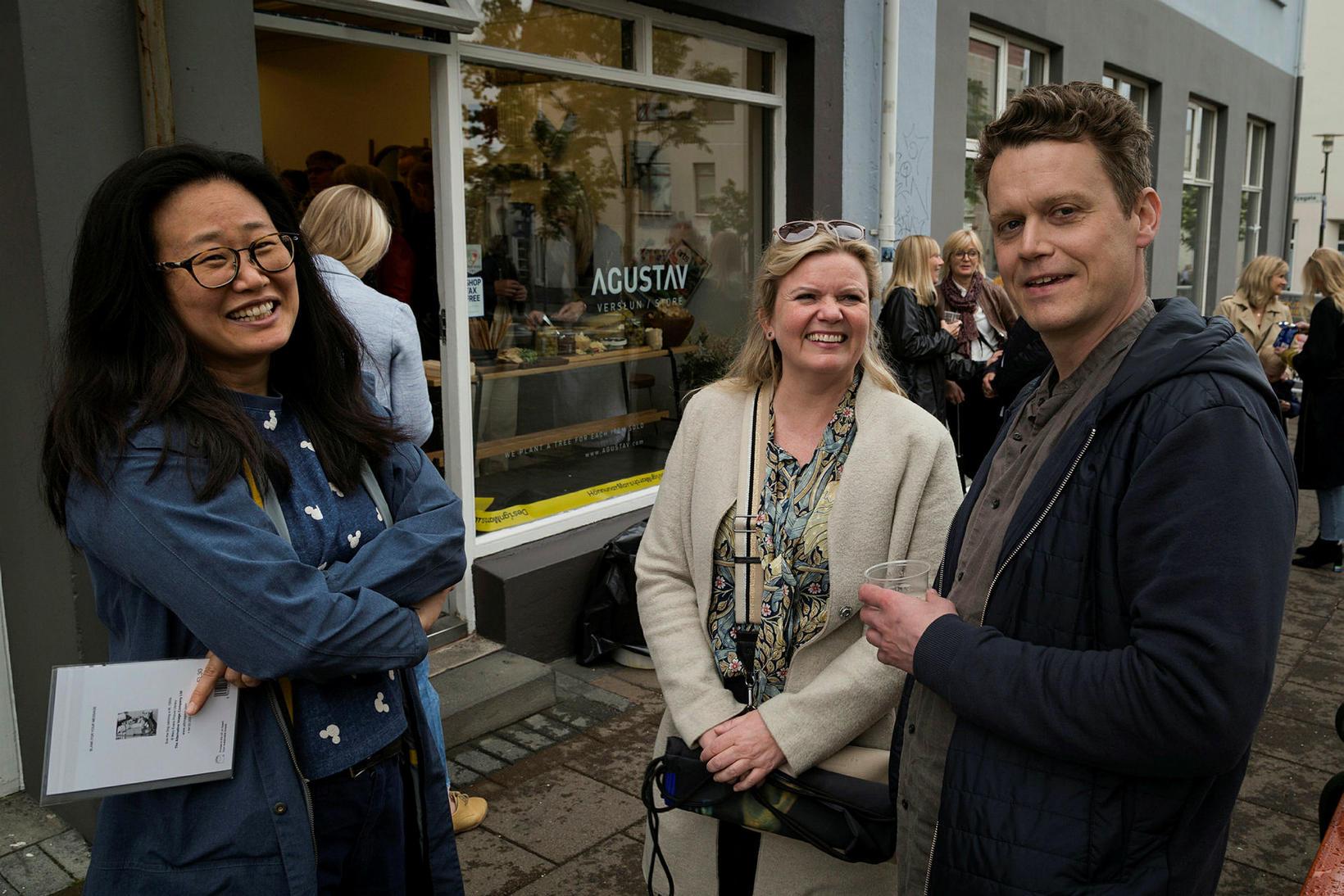 Hye, Anna S Ólafsdóttir og Kalli.