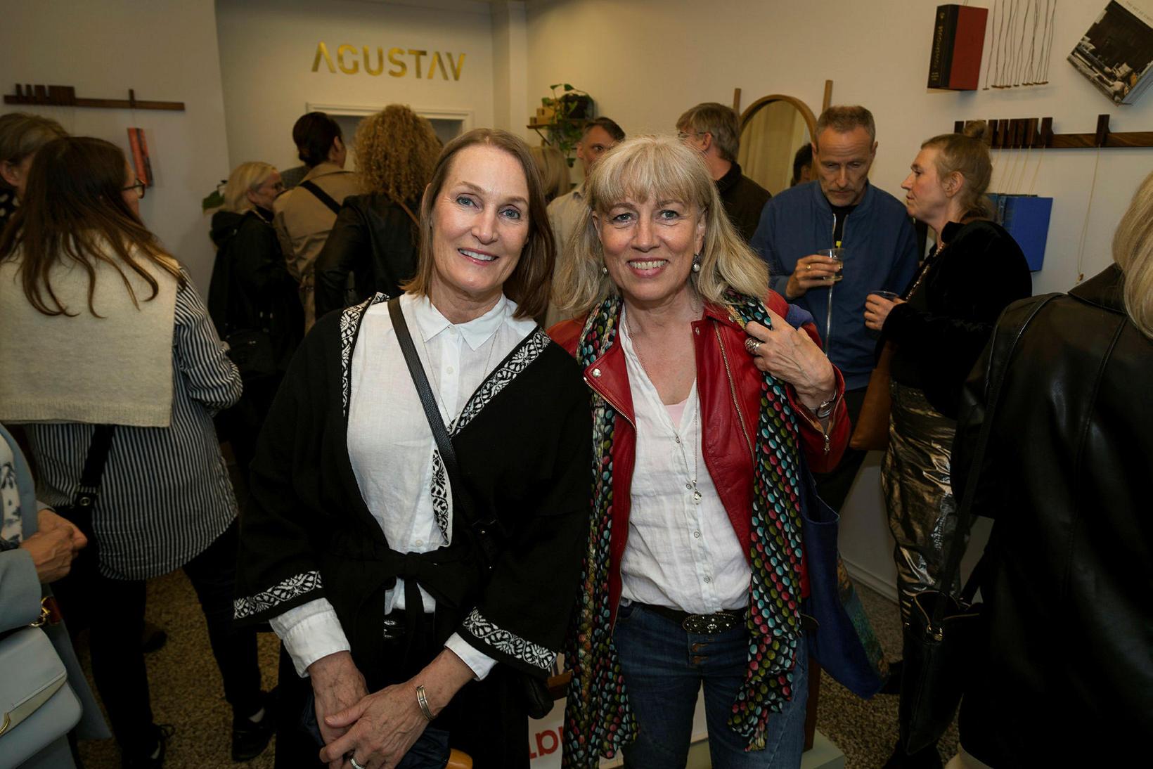 Ruth Sigurðardóttir og Ester Hjálmarsdóttir.