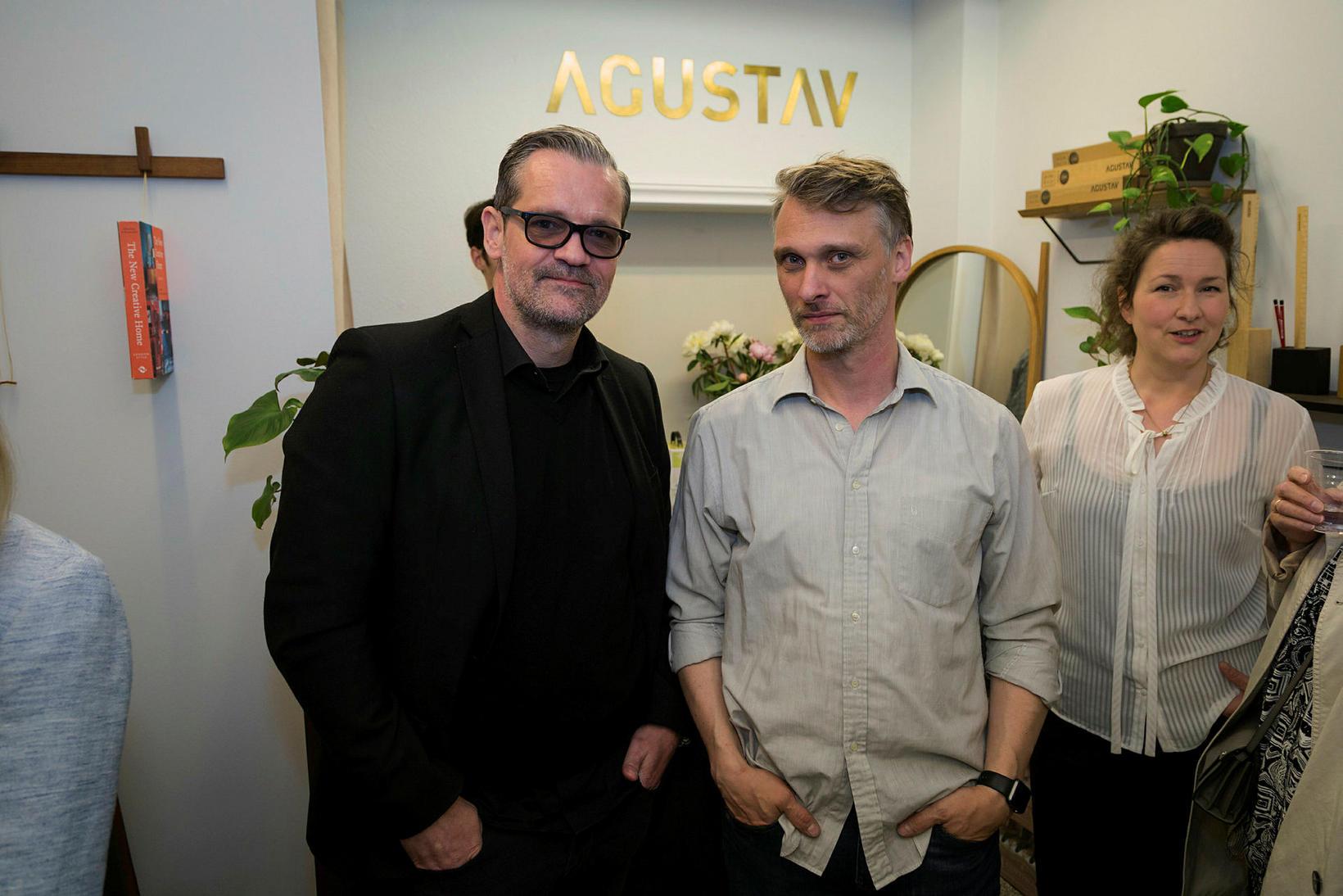Ingvi Steinar Ólafsson og Gustav Jóhannsson.