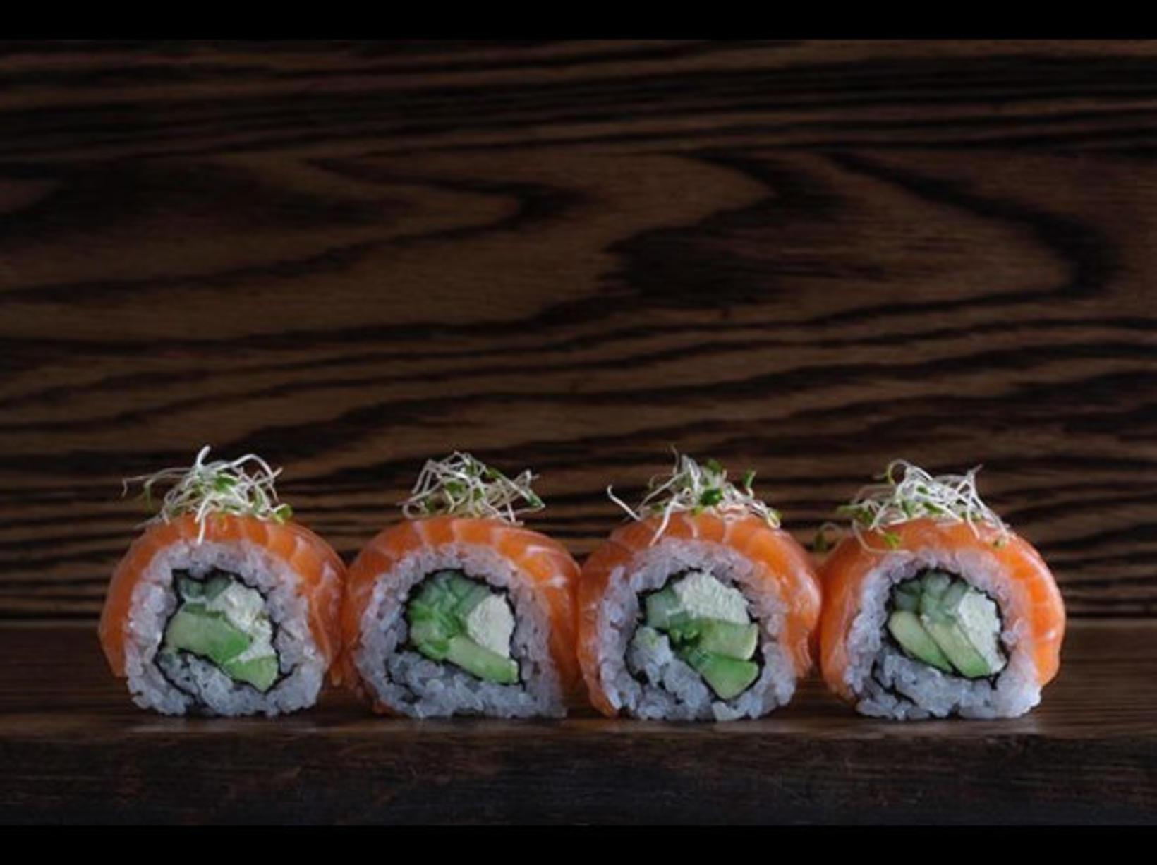 Hrefna elskar Sushi.