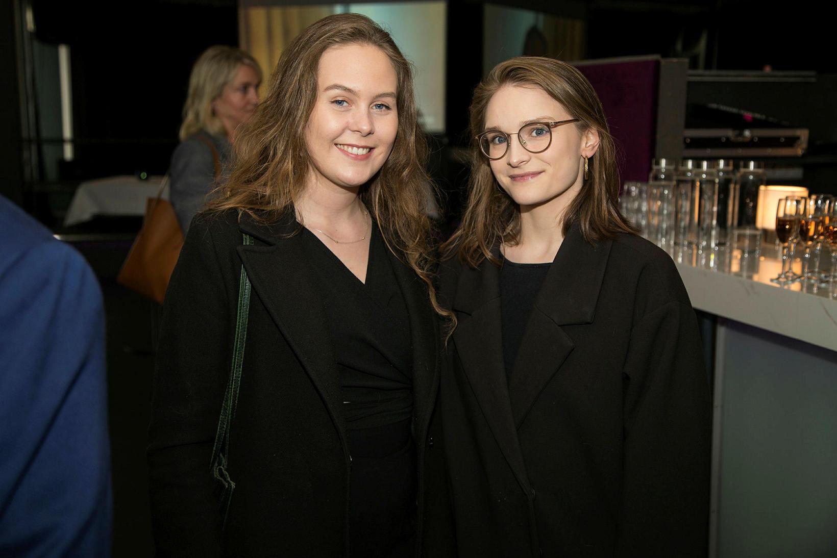 Iðunn Andrésdóttir og Linda Björg Logadóttir.