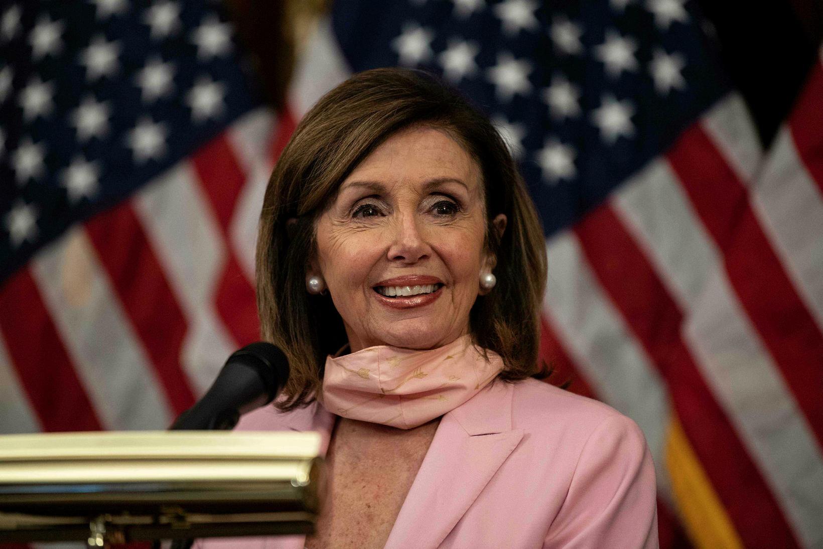 Nancy Pelosi, forseti fulltrúadeildar Bandaríkjaþings.