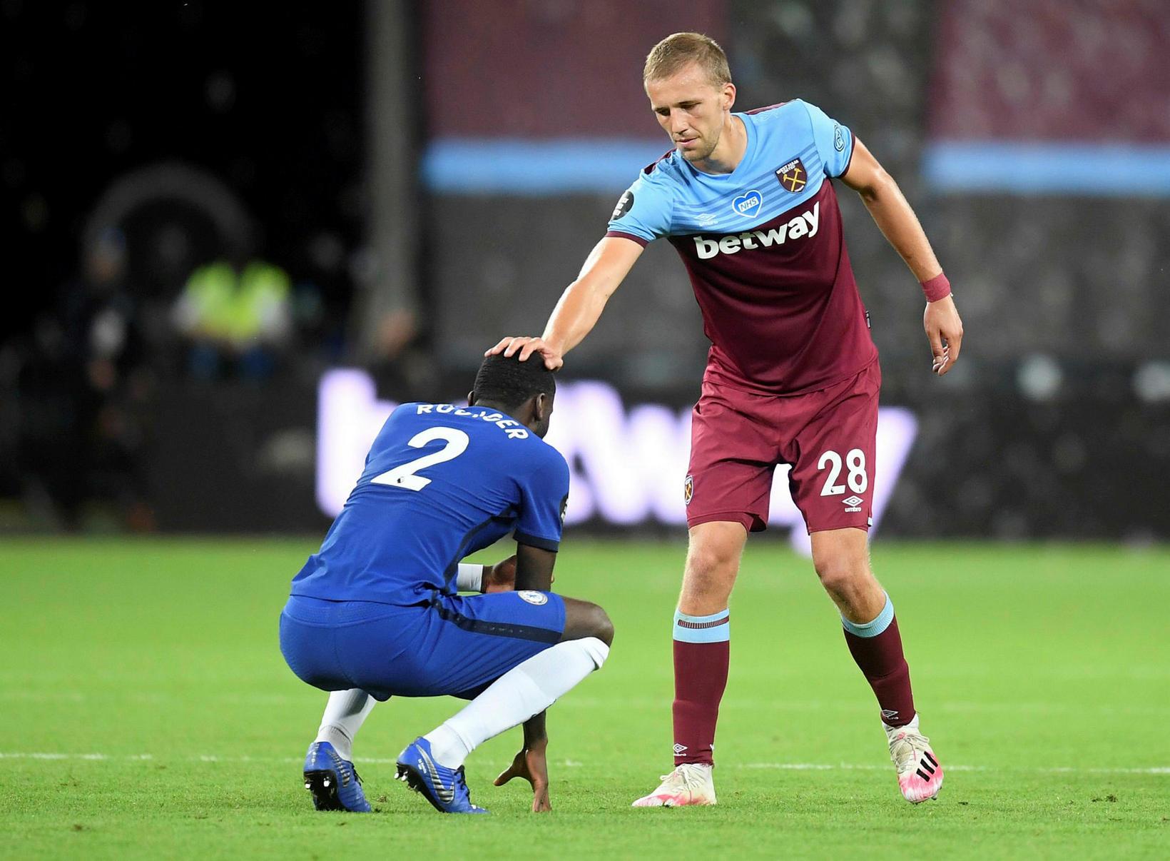 West Ham vann dramatískan sigur gegn Chelsea í vikunni.