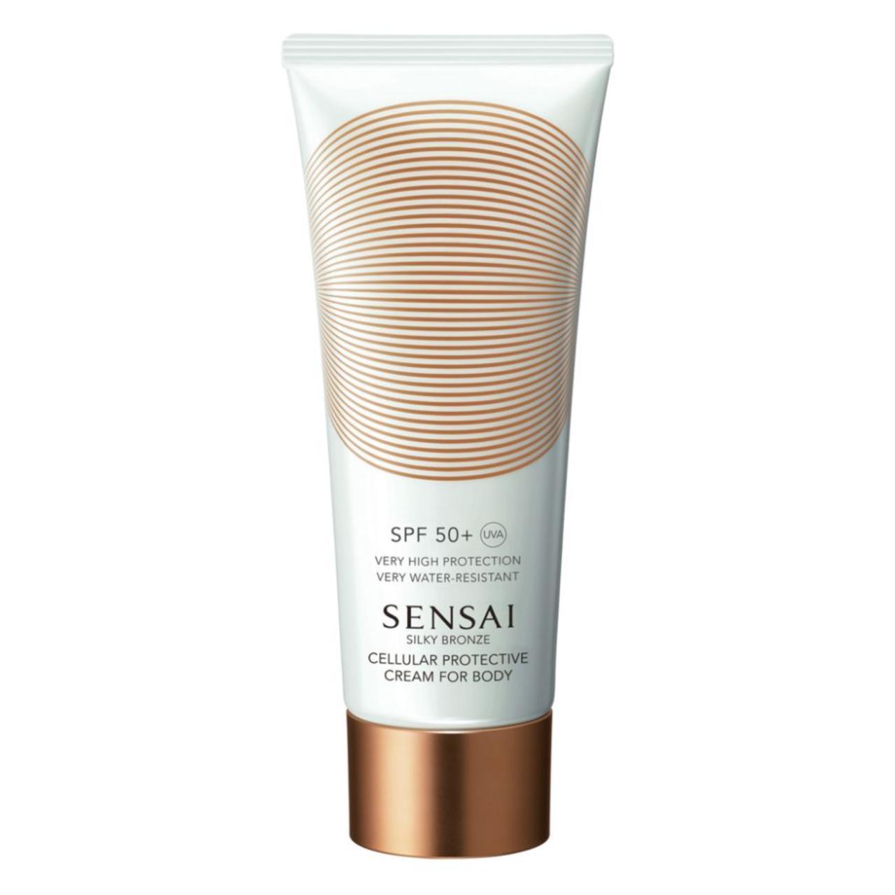 Sensai Silky Bronze Cellular Protective Cream for Body SPF 50, …