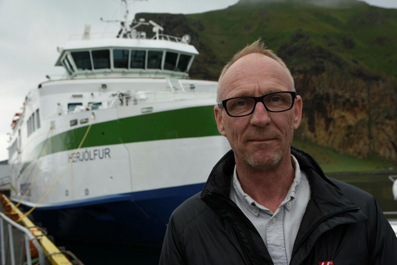 Guðbjartur Ellert Jónsson er framkvæmdastjóri Vestmannaeyjaferjunnar Herjólfs ohf.