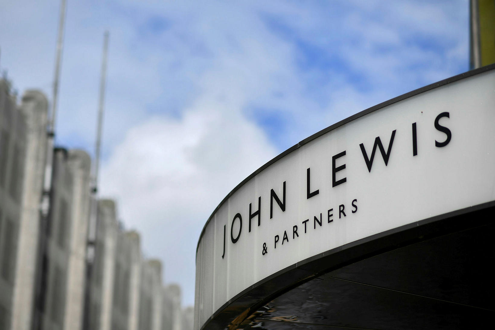 John Lewis á Oxford Street.