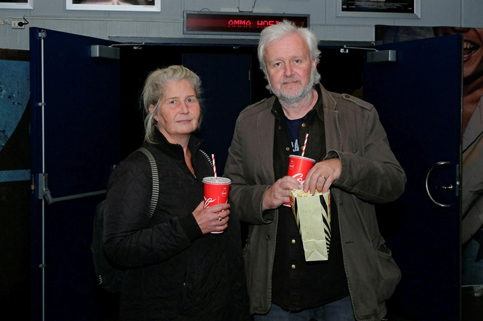 Guðbjörg Lóa Ólafsdóttir og Hjálmar Hjálmarsson.