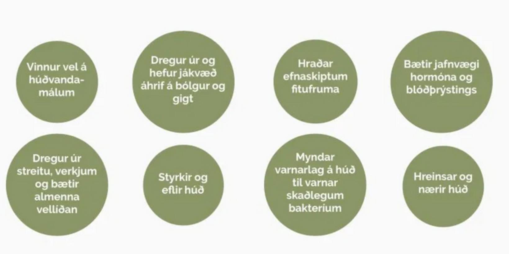 Þaraböðin eru sögð allra meina bót.