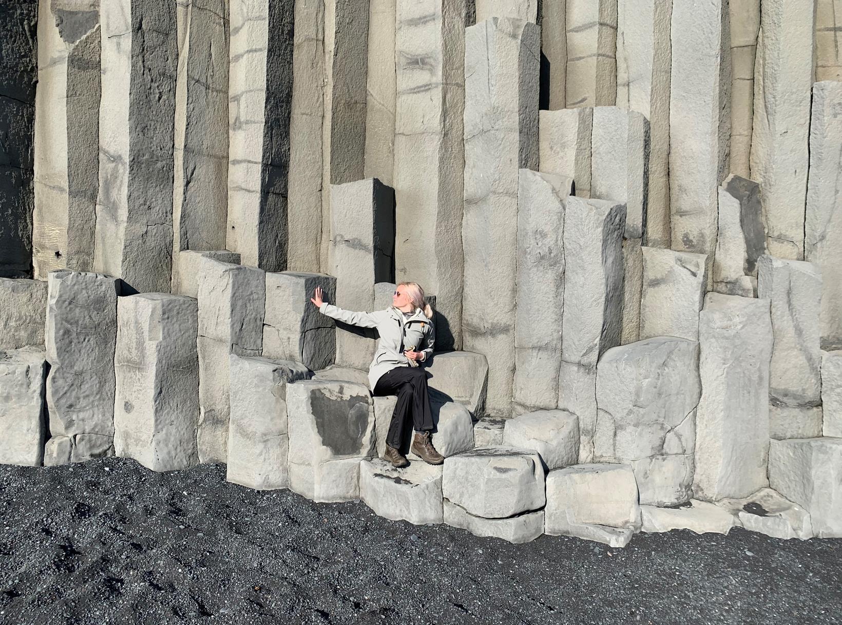 Vala ætlaði sér alltaf að ferðast um Ísland í sumar.