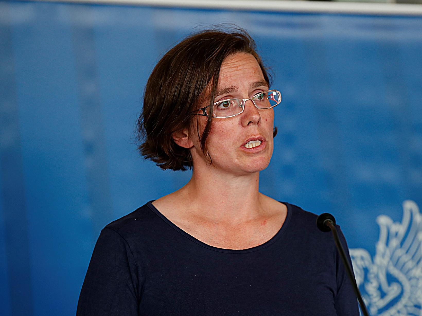 Kamilla Sigríður Jósefsdóttir staðgengill sóttvarnalæknis hefur áhyggjur af ástandinu.