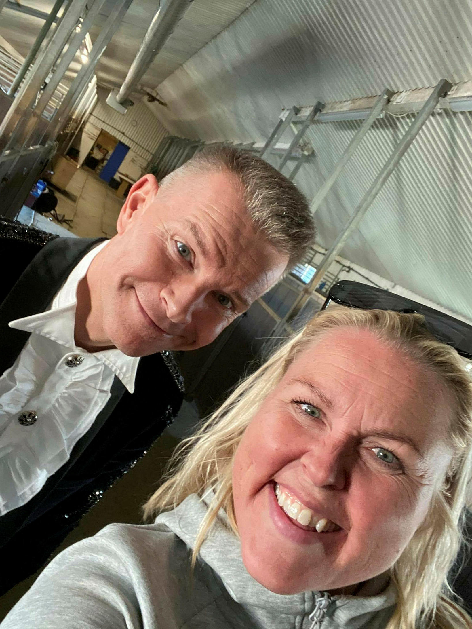 Páll Óskar og Guðbjörg G. Sveinbjörnsdóttir, framkvæmdastjóri og eigandi Trausta.