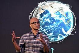 Satya Nadella forstjóri Microsoft.