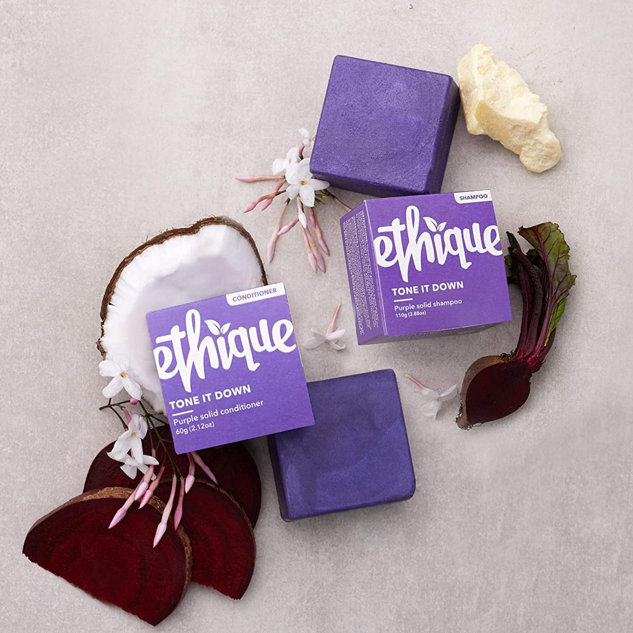 Ethique Tone It Down Purple Solid Shampoo, 2.860 kr., og …