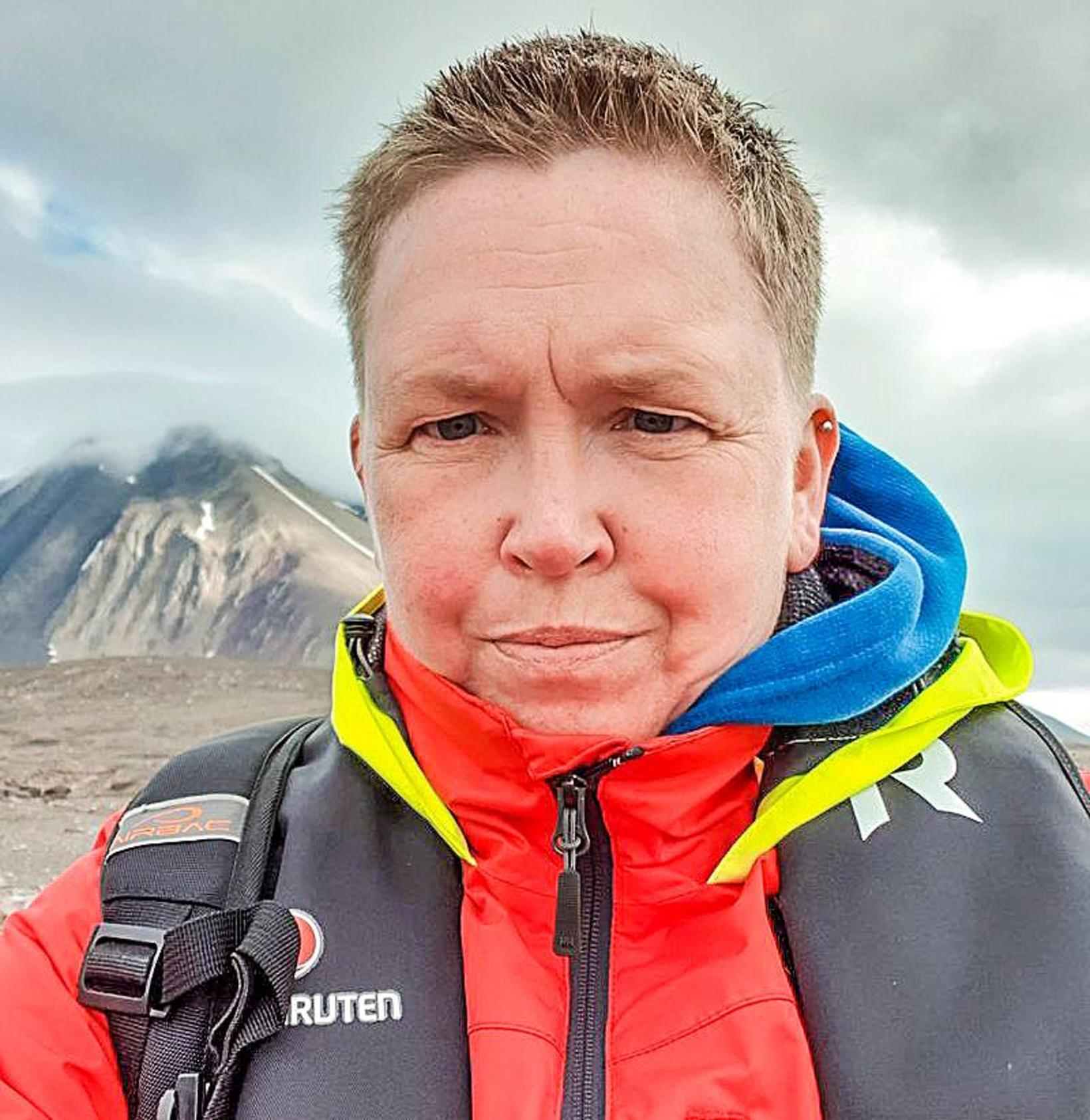 Geðhjúkrunarfræðingurinn Lise Horgmo segir sínar farir ekki sléttar eftir siglinguna .