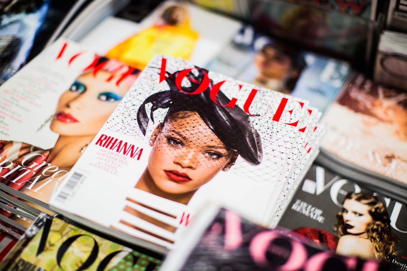 í fyrsta skipti í 128 ára sögu Vogue hafa allar …