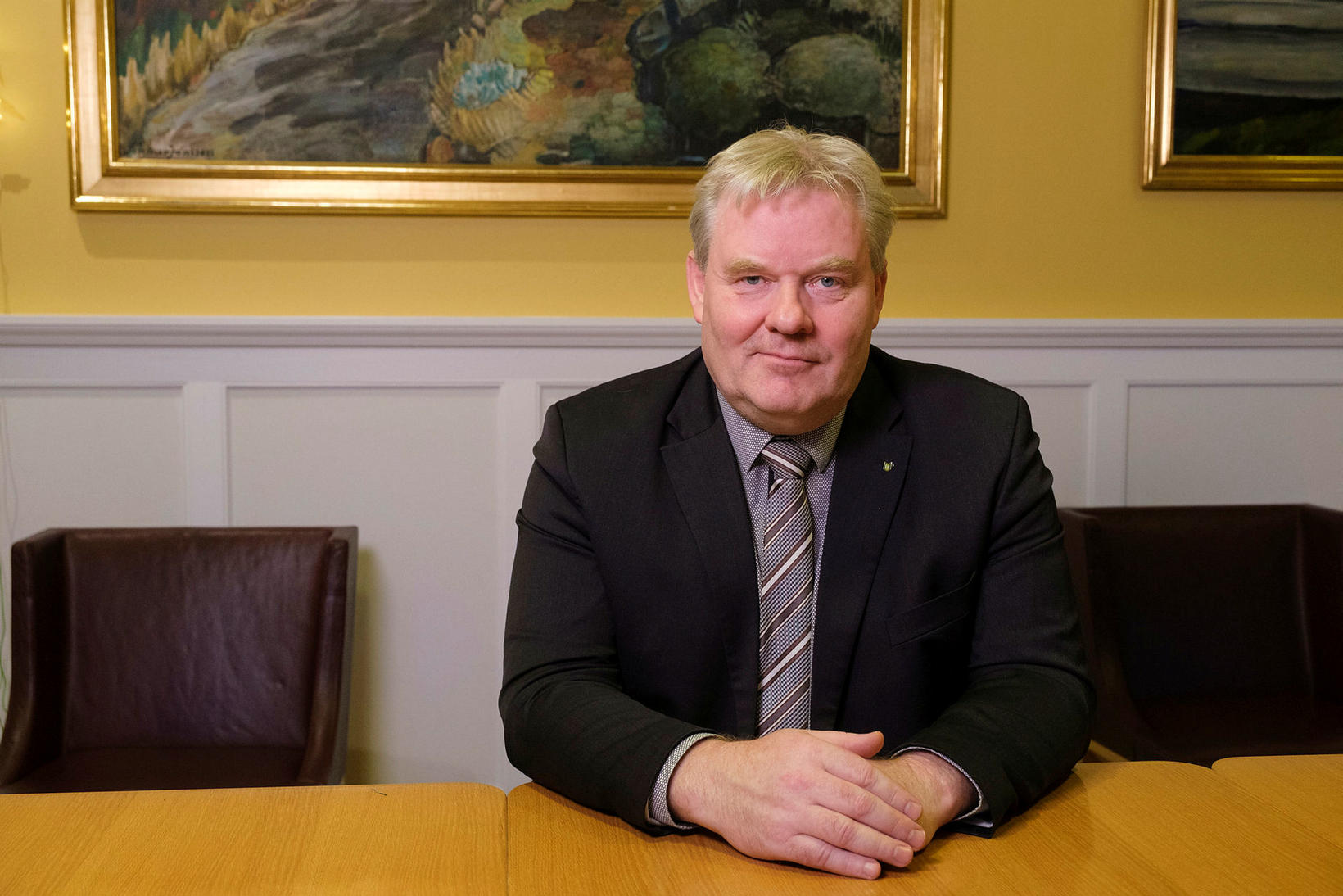 Minister of Transport and Local Government Sigurður Ingi Jóhannsson.