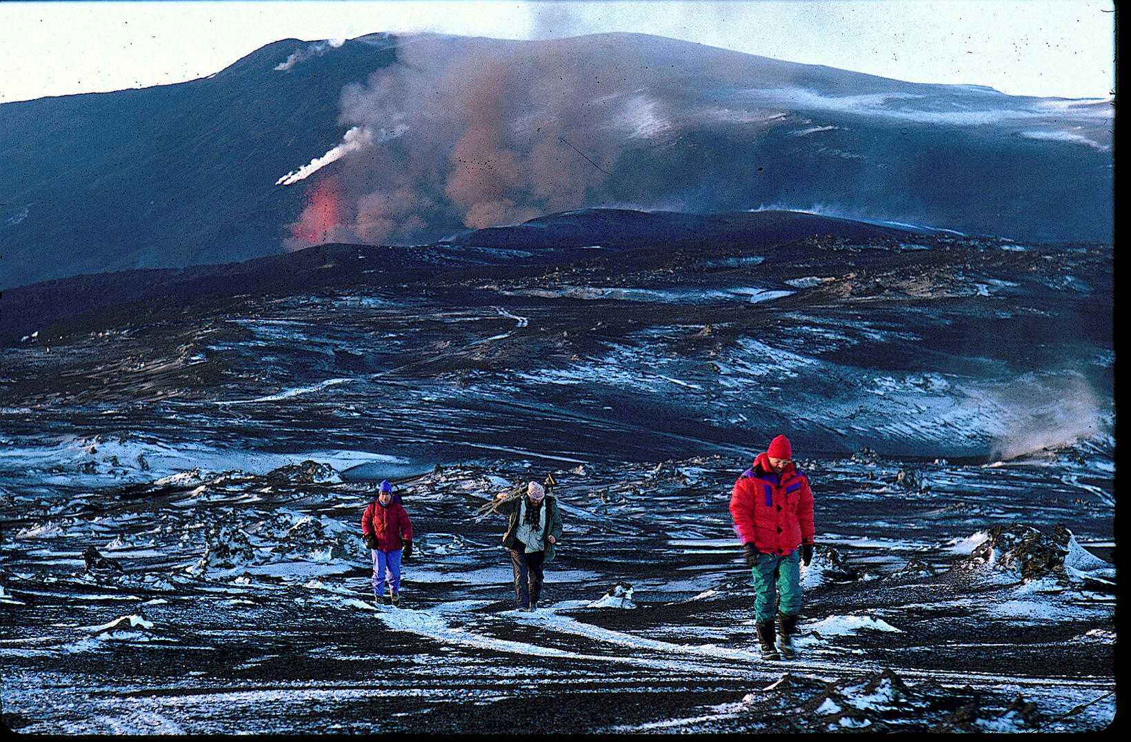 From the 1991 Hekla eruption, when lava covered an area …