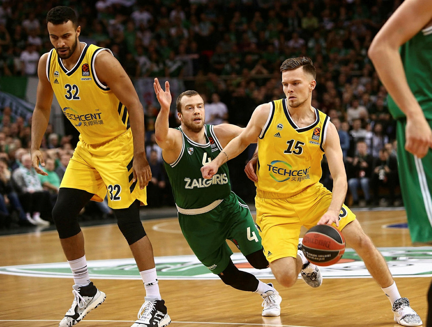 Martin í leik með Alba Berlin í EuroLeague.