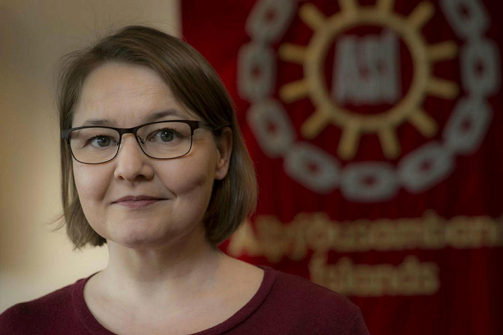 Drífa Snædal, forseti ASÍ, óttast að við séum að sigla …