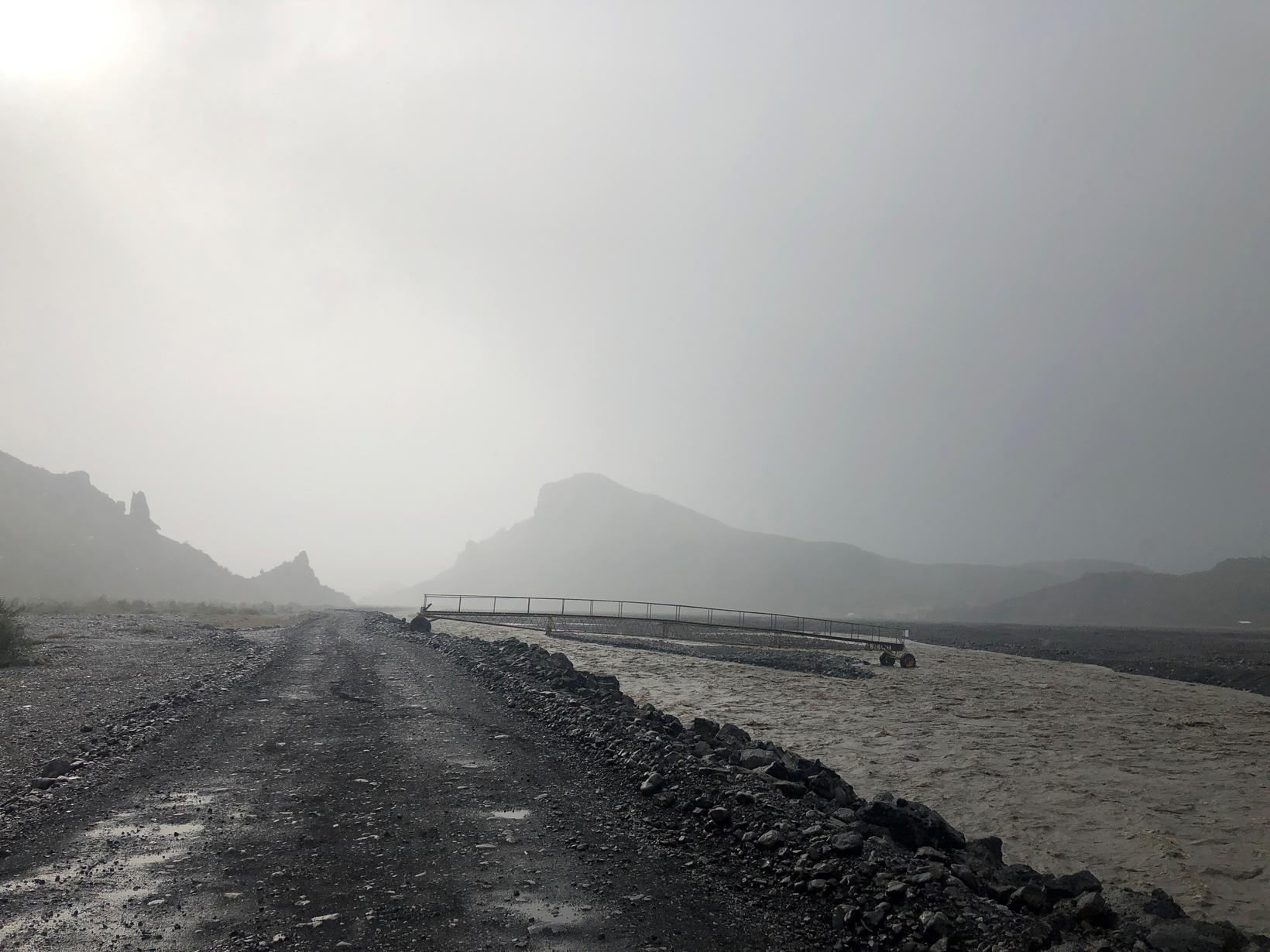 Mikið hefur rignt á Suðurlandi í dag og í gær …