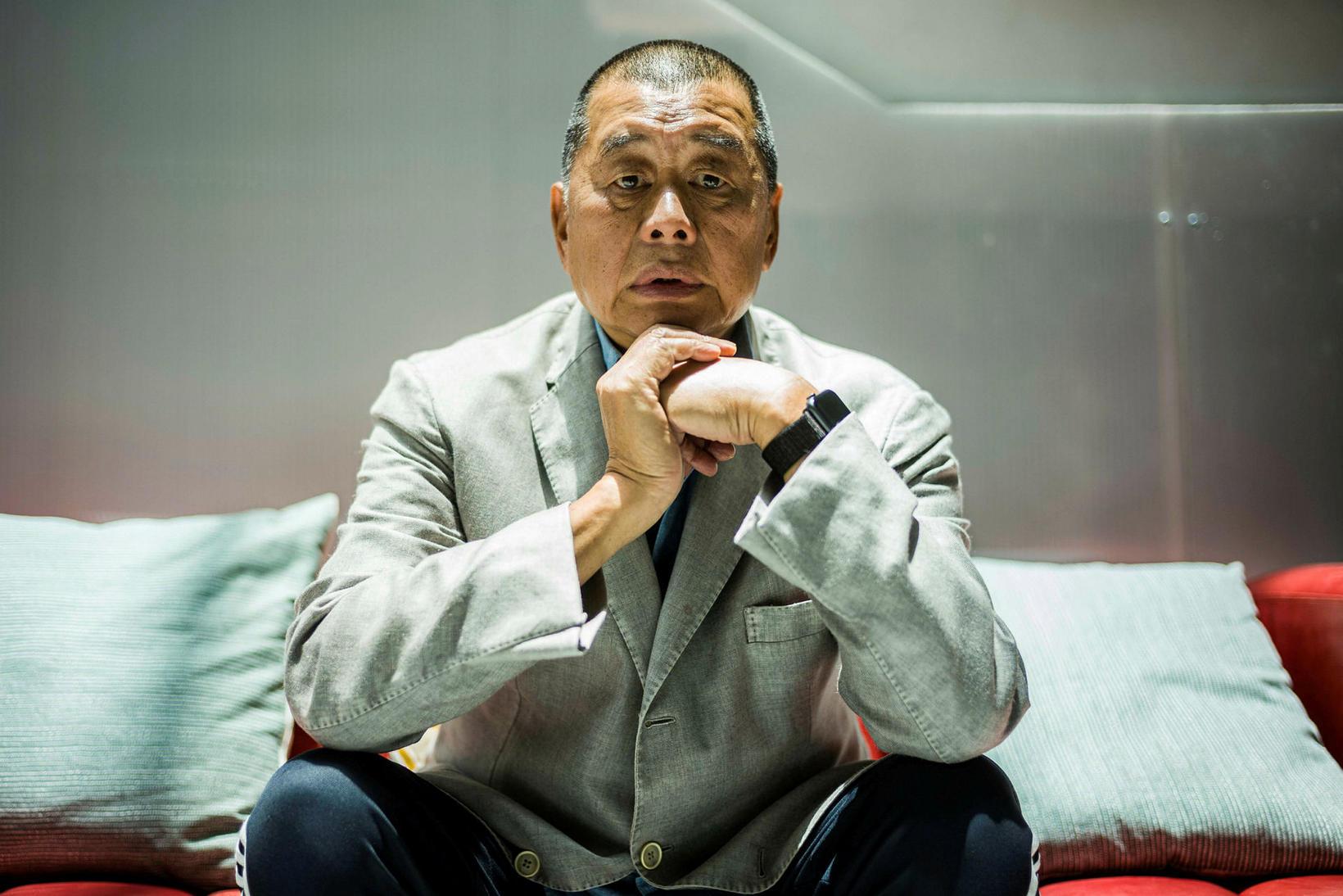 Jimmy Lai.