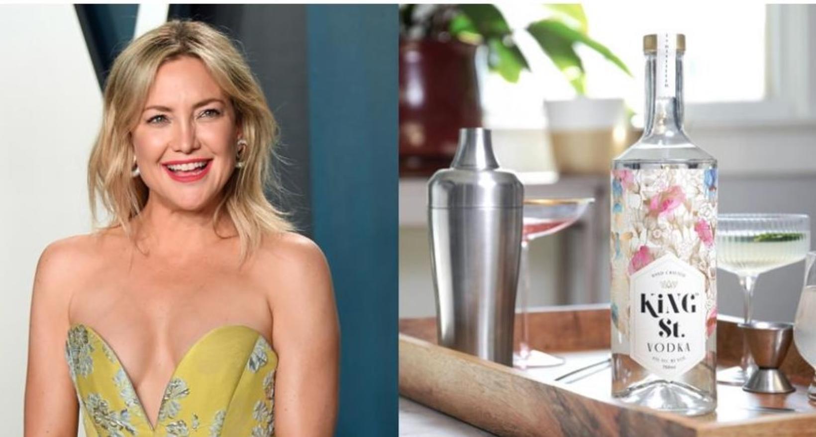 Yndislega Kate Hudson framleiðir vodka sem kallast King St. Vodka. …